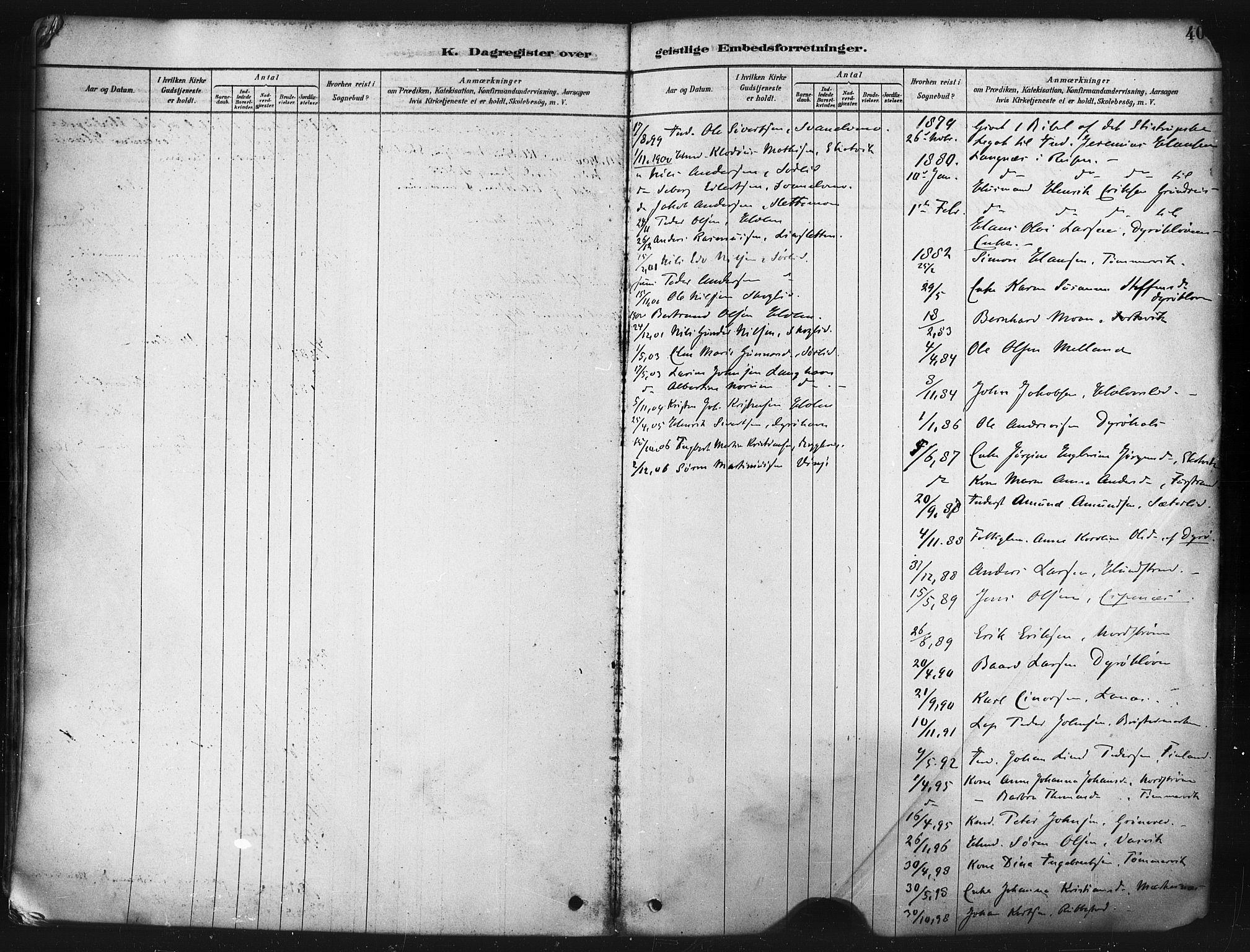 SATØ, Tranøy sokneprestkontor, I/Ia/Iaa/L0009kirke: Ministerialbok nr. 9, 1878-1904, s. 400