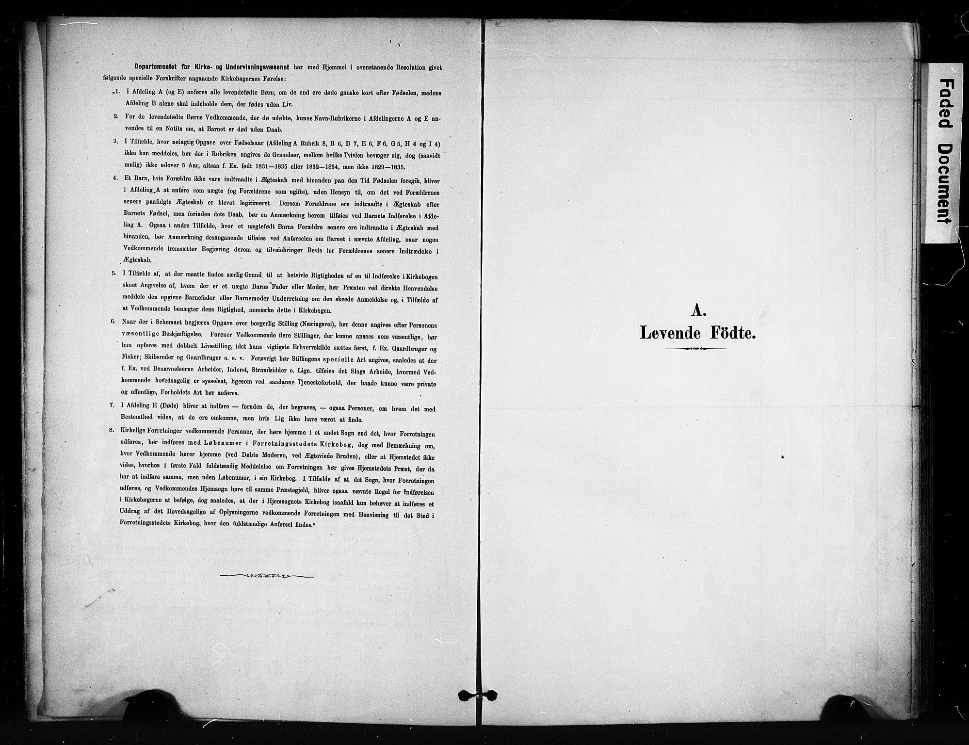 SAH, Vang prestekontor, Valdres, Ministerialbok nr. 9, 1882-1914