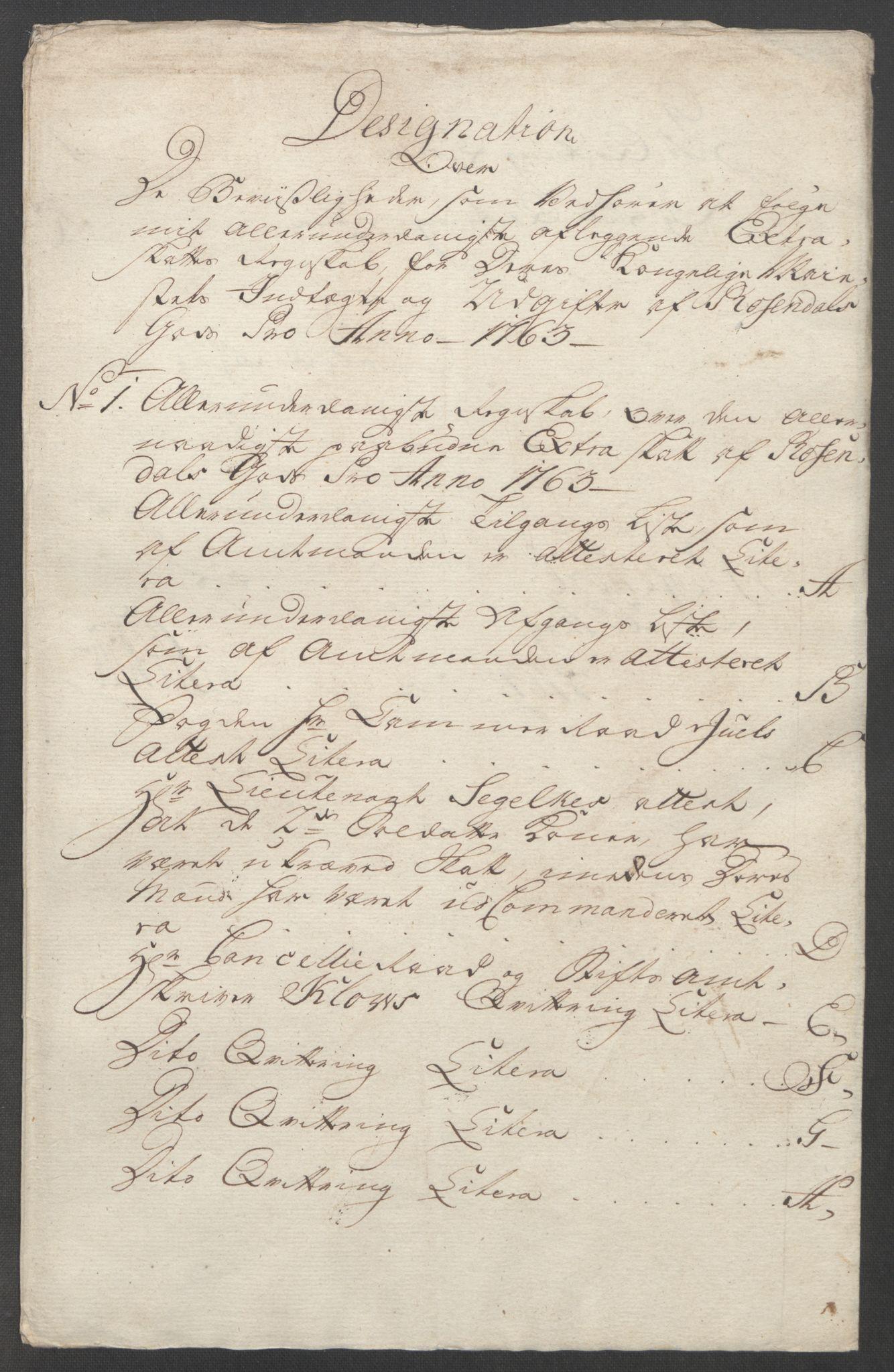 RA, Rentekammeret inntil 1814, Reviderte regnskaper, Fogderegnskap, R49/L3157: Ekstraskatten Rosendal Baroni, 1762-1772, s. 32