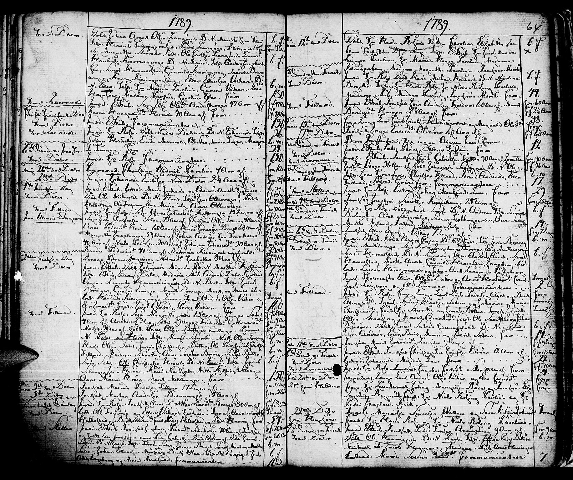 SAT, Ministerialprotokoller, klokkerbøker og fødselsregistre - Sør-Trøndelag, 634/L0526: Ministerialbok nr. 634A02, 1775-1818, s. 64
