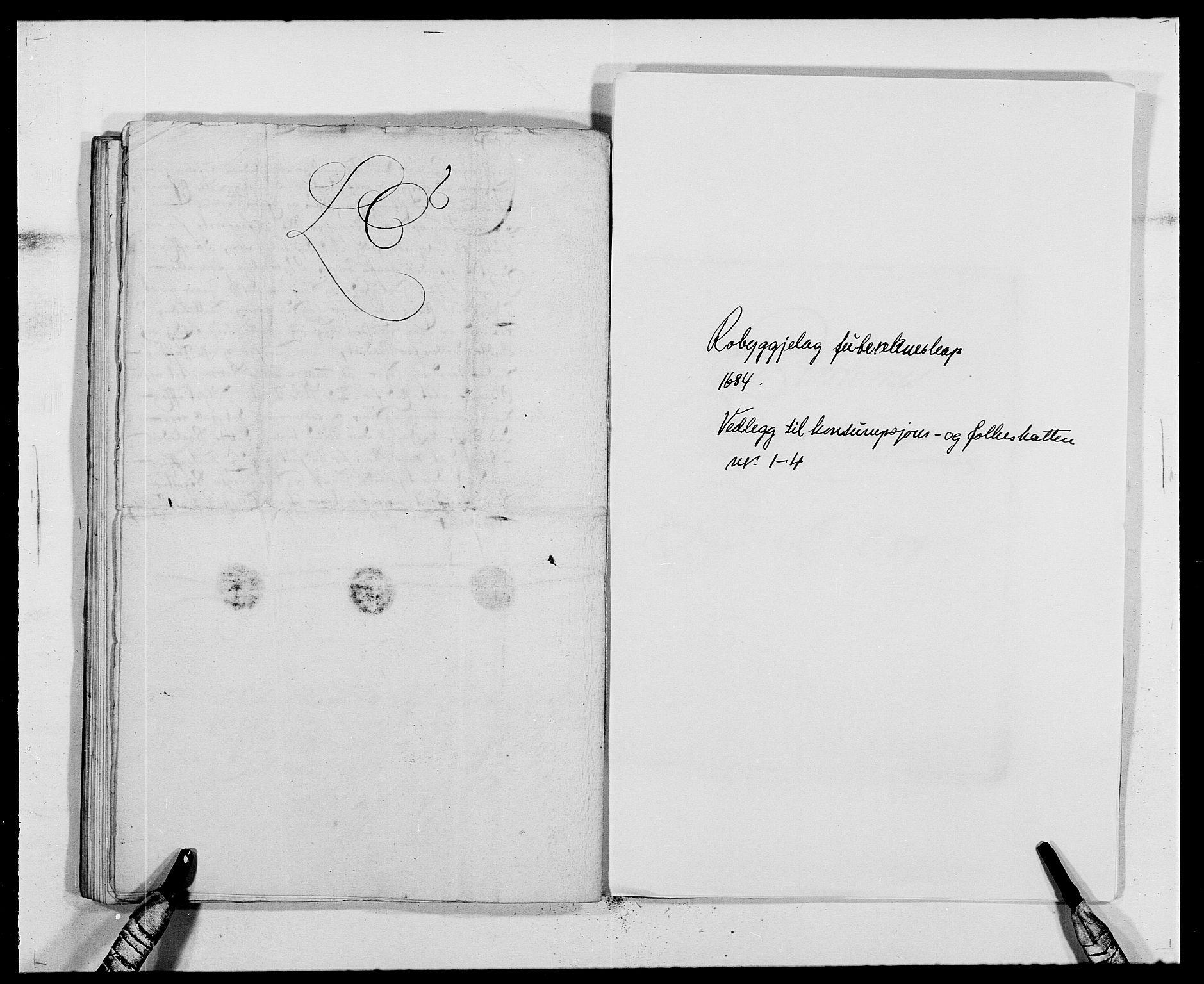 RA, Rentekammeret inntil 1814, Reviderte regnskaper, Fogderegnskap, R40/L2439: Fogderegnskap Råbyggelag, 1684-1685, s. 85