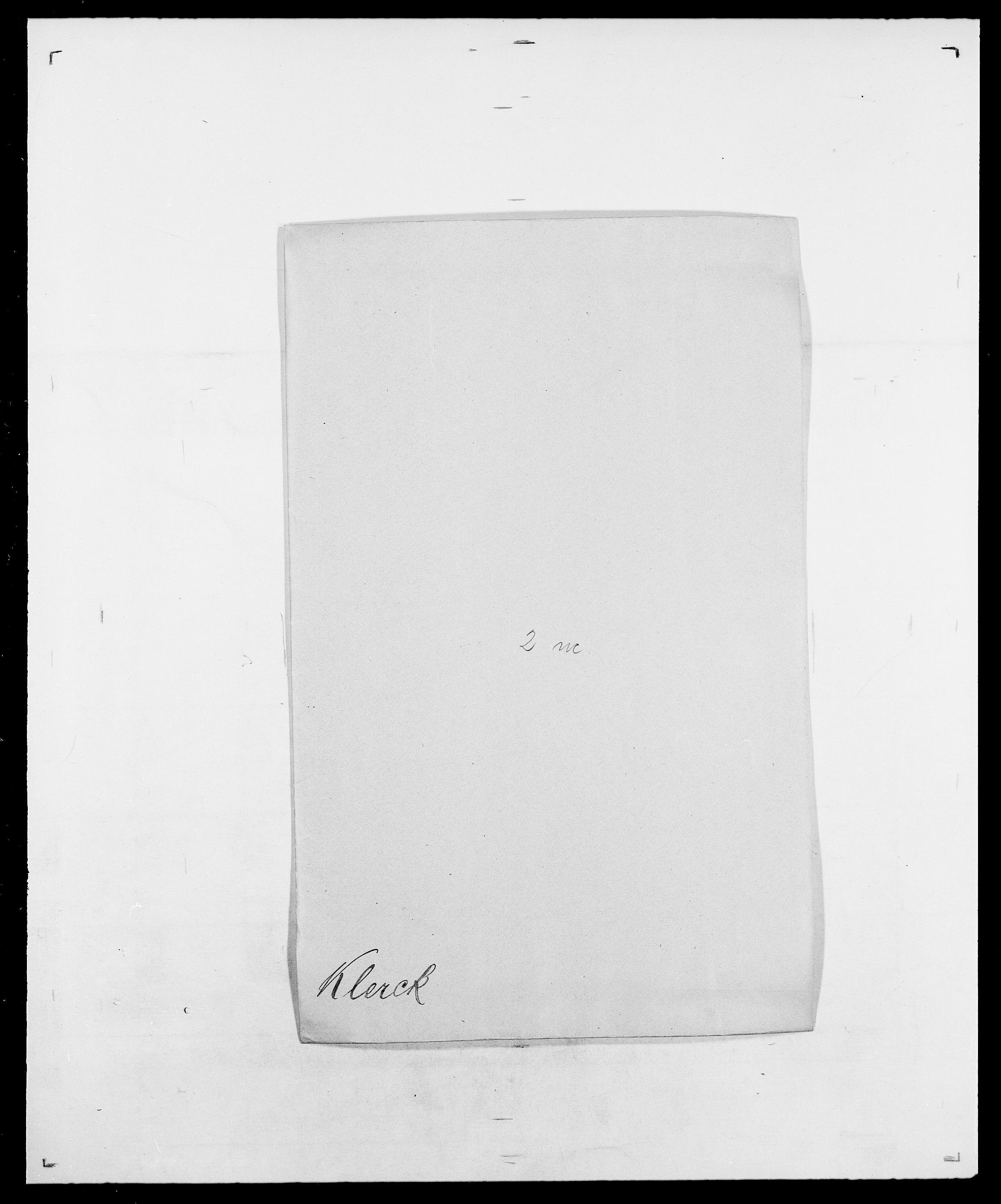 SAO, Delgobe, Charles Antoine - samling, D/Da/L0021: Klagenberg - Kristoft, s. 46