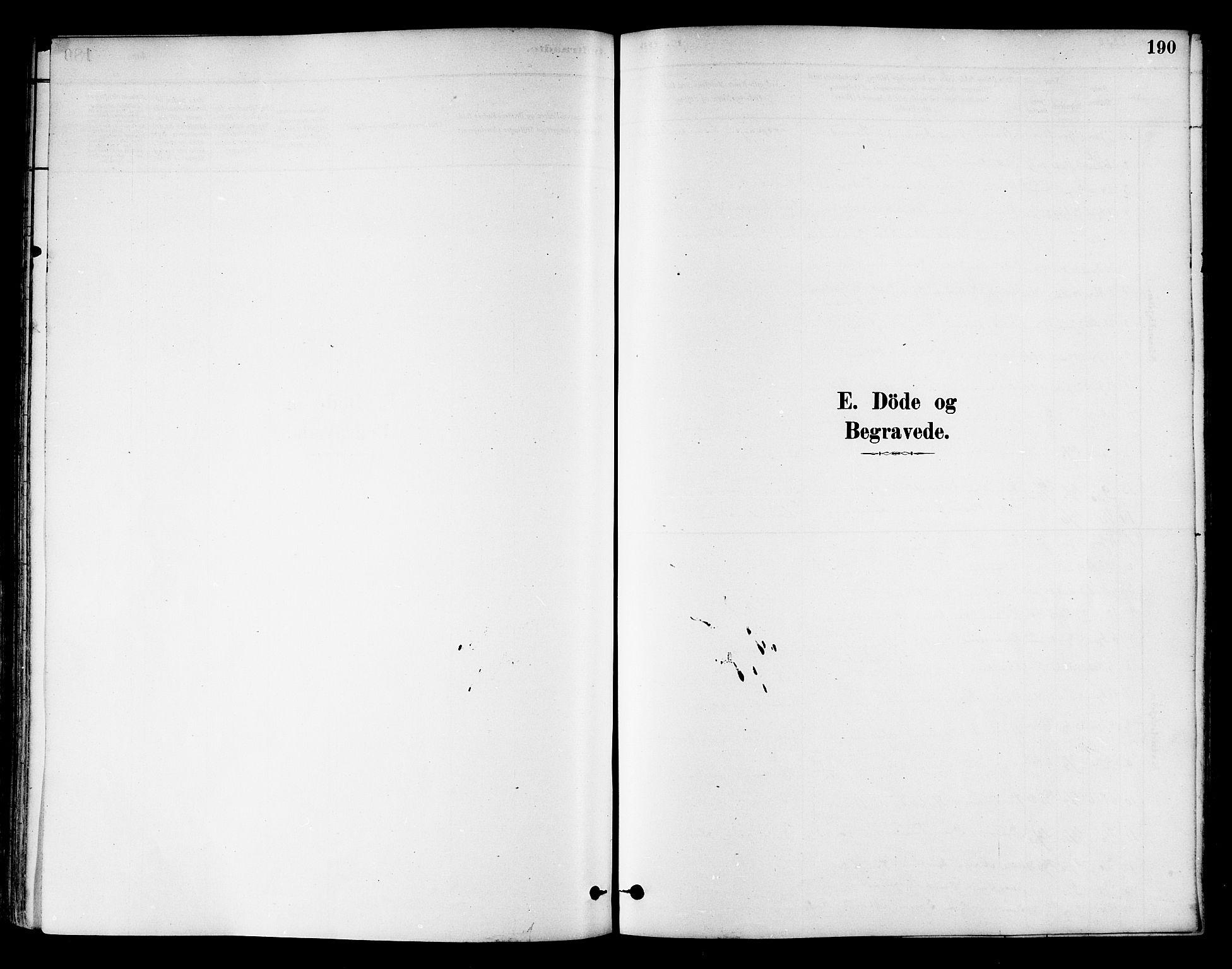 SAT, Ministerialprotokoller, klokkerbøker og fødselsregistre - Nord-Trøndelag, 786/L0686: Ministerialbok nr. 786A02, 1880-1887, s. 190