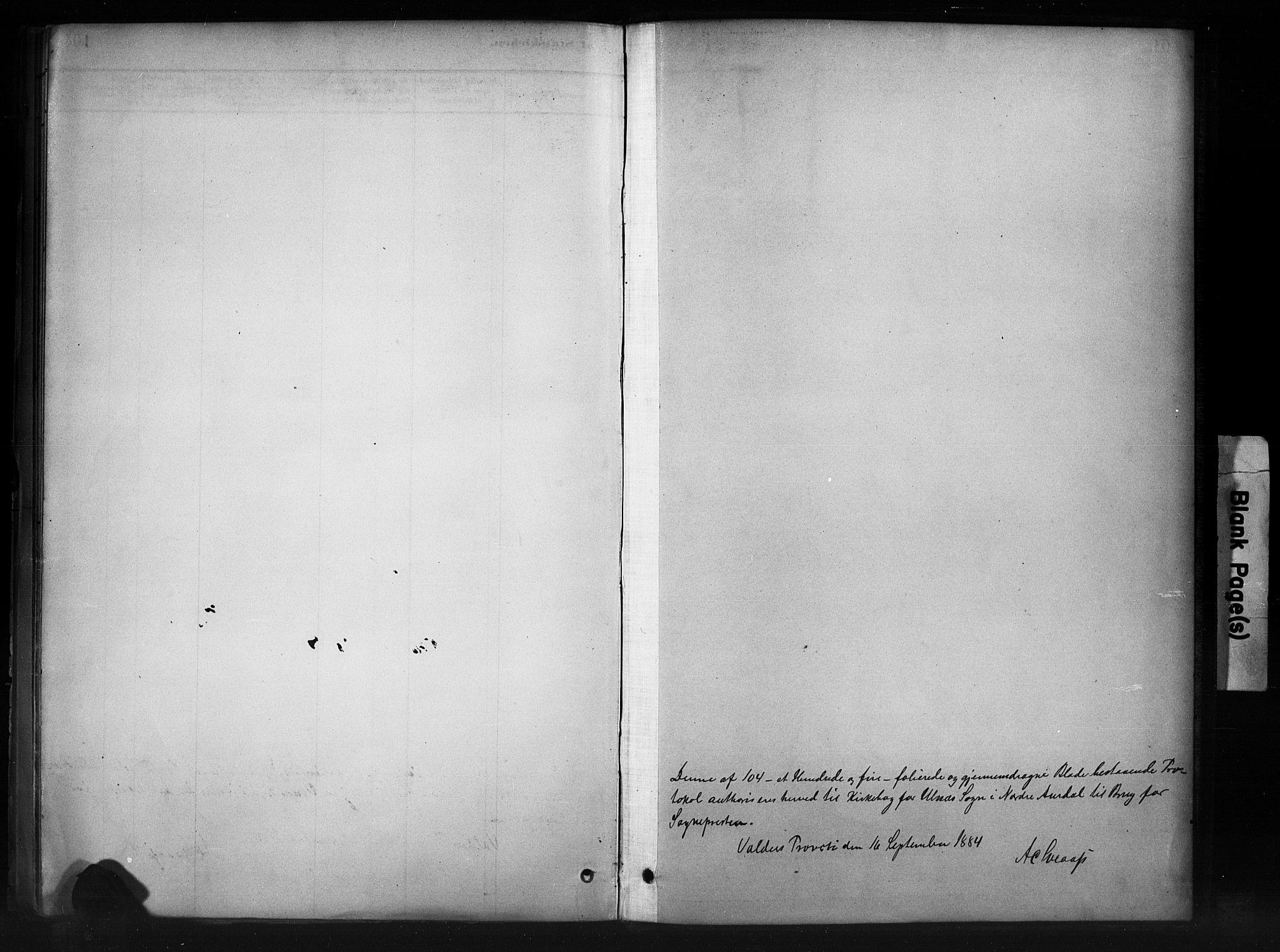 SAH, Nord-Aurdal prestekontor, Ministerialbok nr. 11, 1883-1896