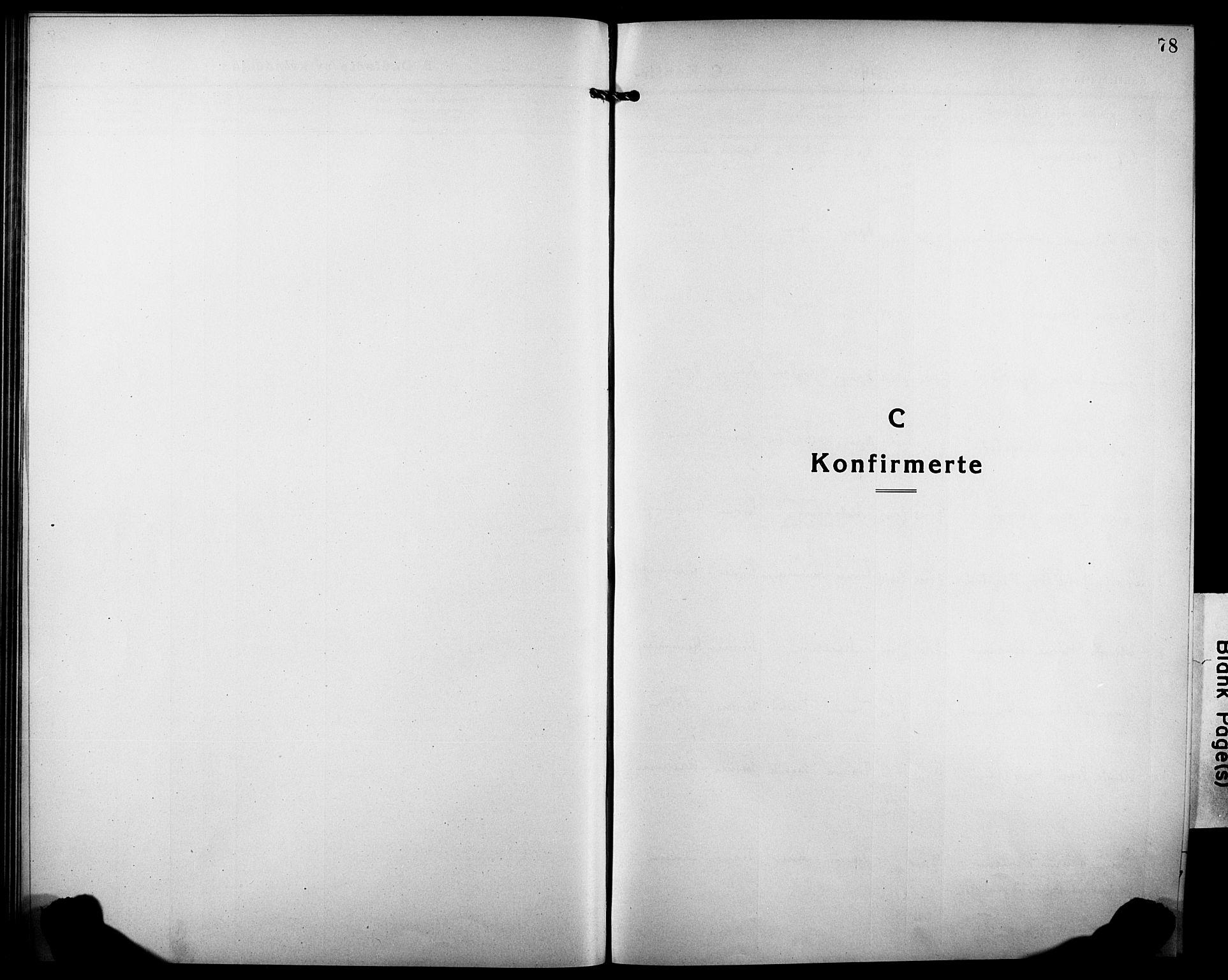 SATØ, Tranøy sokneprestkontor, I/Ia/Iab/L0006klokker: Klokkerbok nr. 6, 1919-1932, s. 78