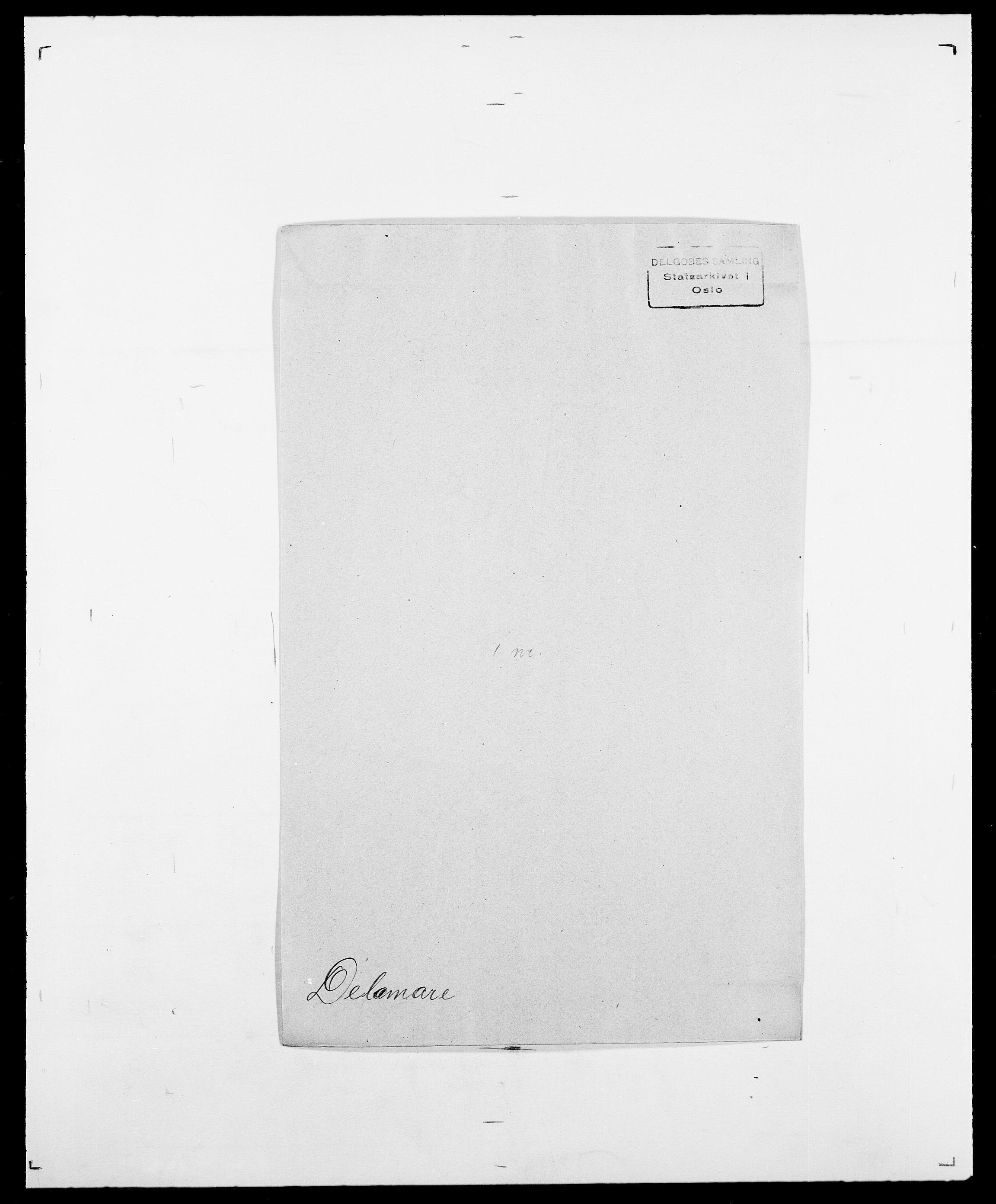 SAO, Delgobe, Charles Antoine - samling, D/Da/L0009: Dahl - v. Düren, s. 467