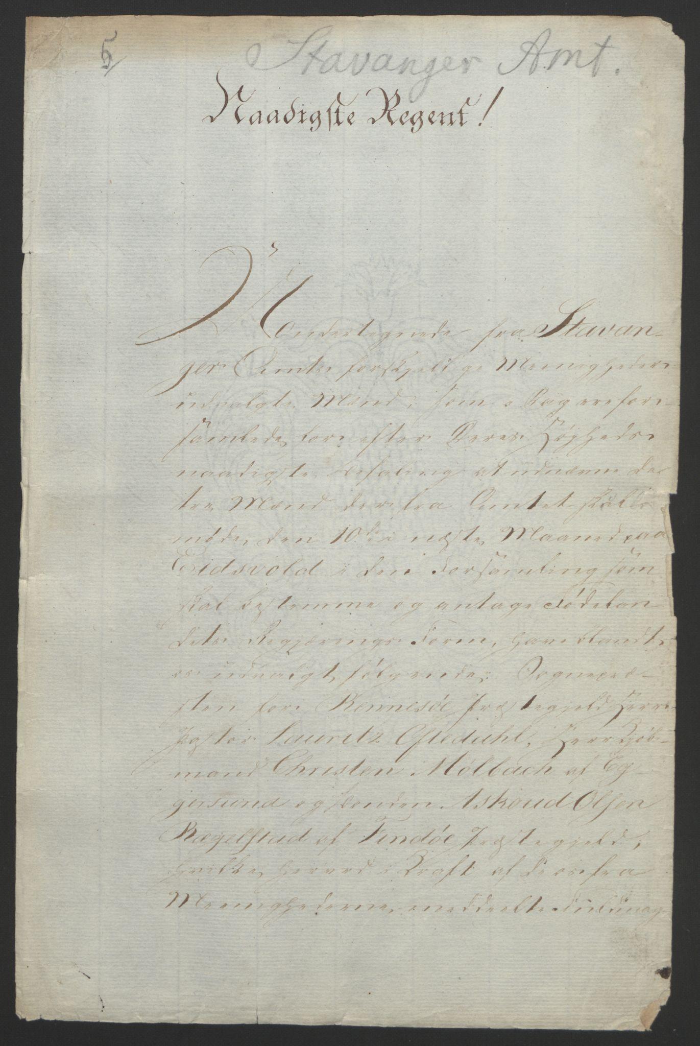 RA, Statsrådssekretariatet, D/Db/L0008: Fullmakter for Eidsvollsrepresentantene i 1814. , 1814, s. 196