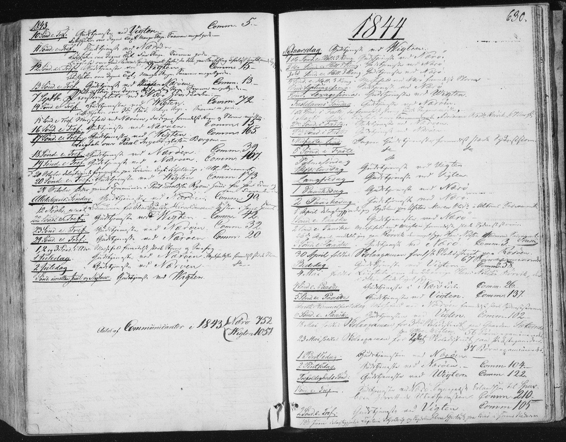 SAT, Ministerialprotokoller, klokkerbøker og fødselsregistre - Nord-Trøndelag, 784/L0669: Ministerialbok nr. 784A04, 1829-1859, s. 630