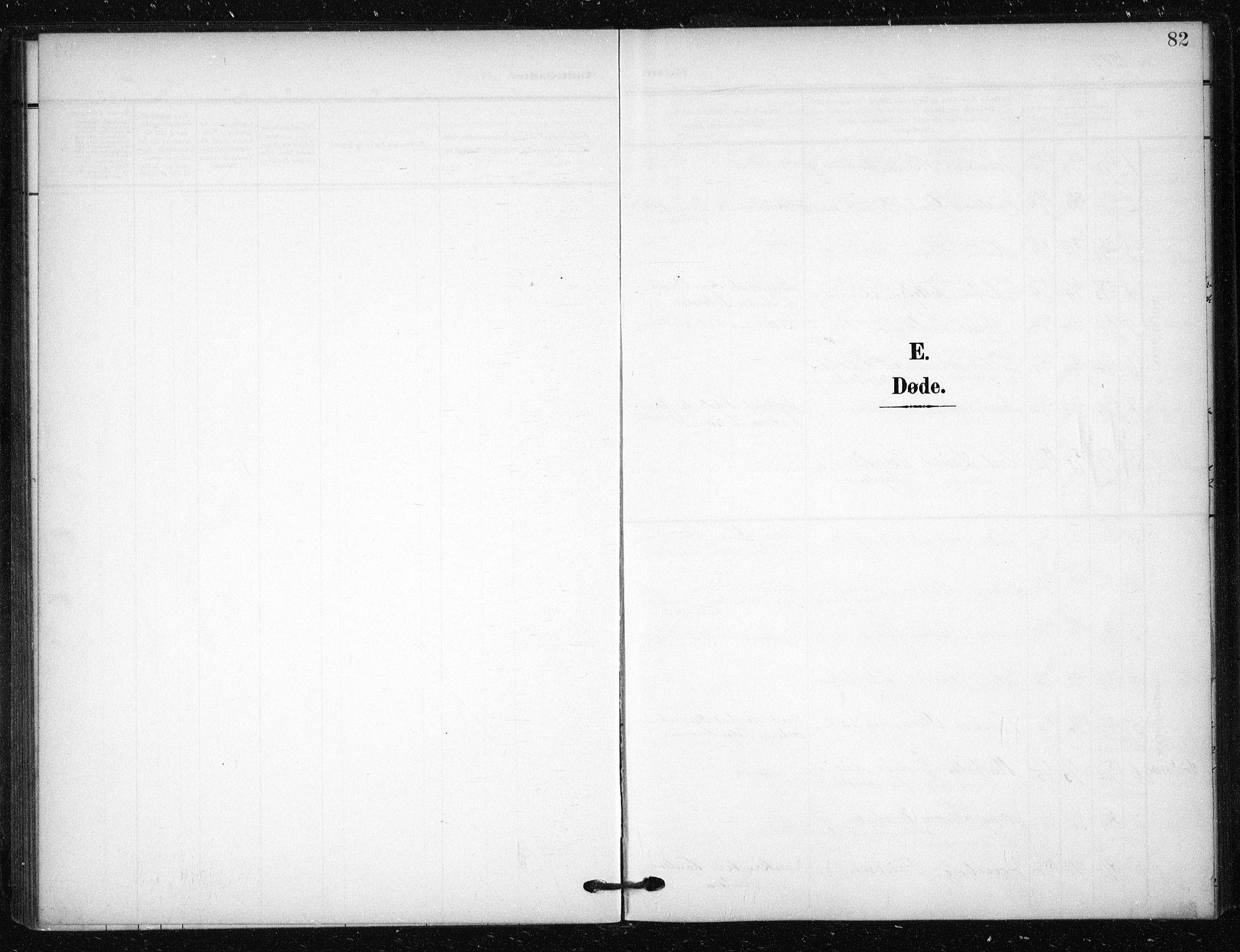 SAO, Tøyen prestekontor Kirkebøker, F/Fa/L0002: Ministerialbok nr. 2, 1907-1916, s. 82