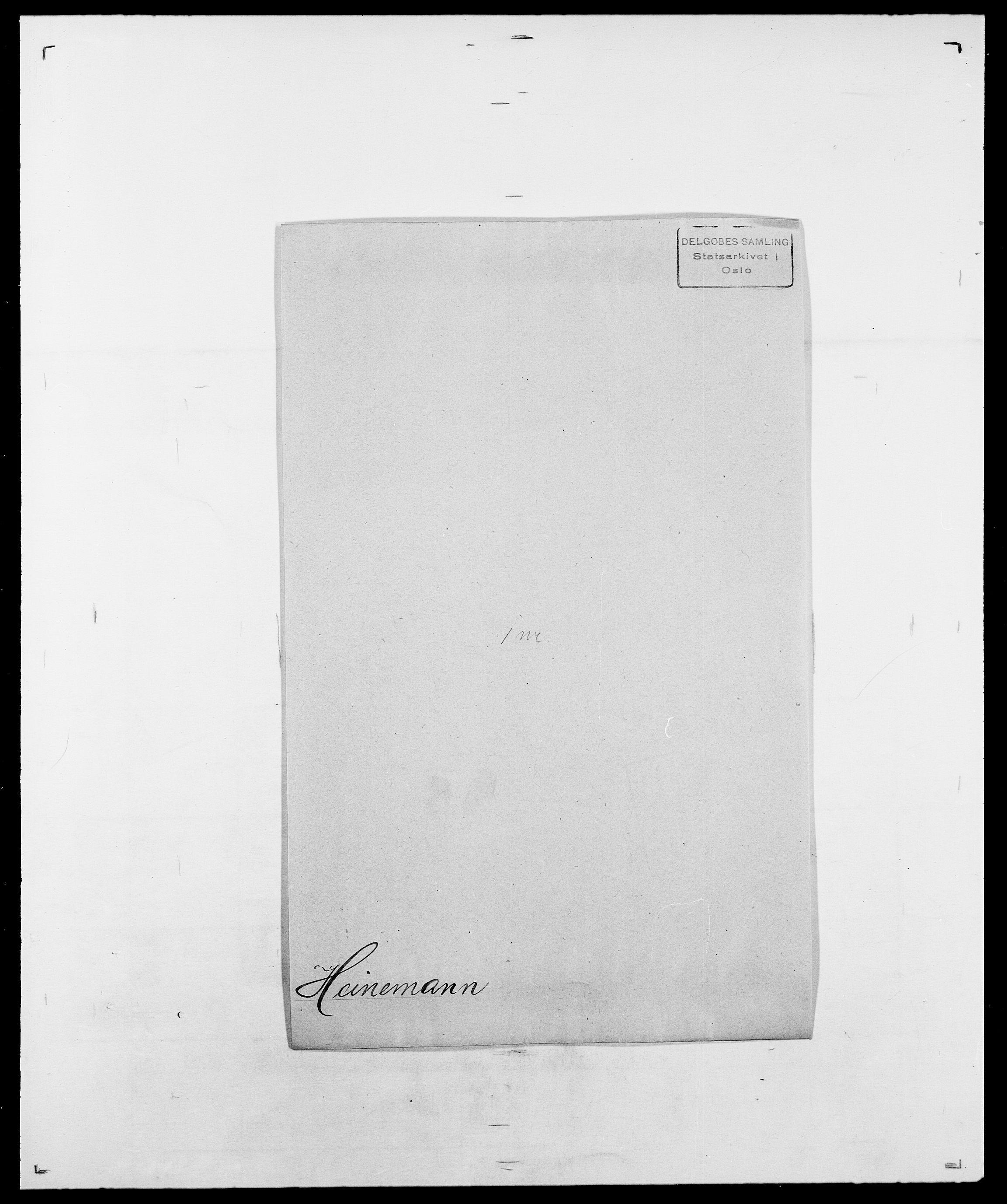 SAO, Delgobe, Charles Antoine - samling, D/Da/L0016: Hamborg - Hektoen, s. 841