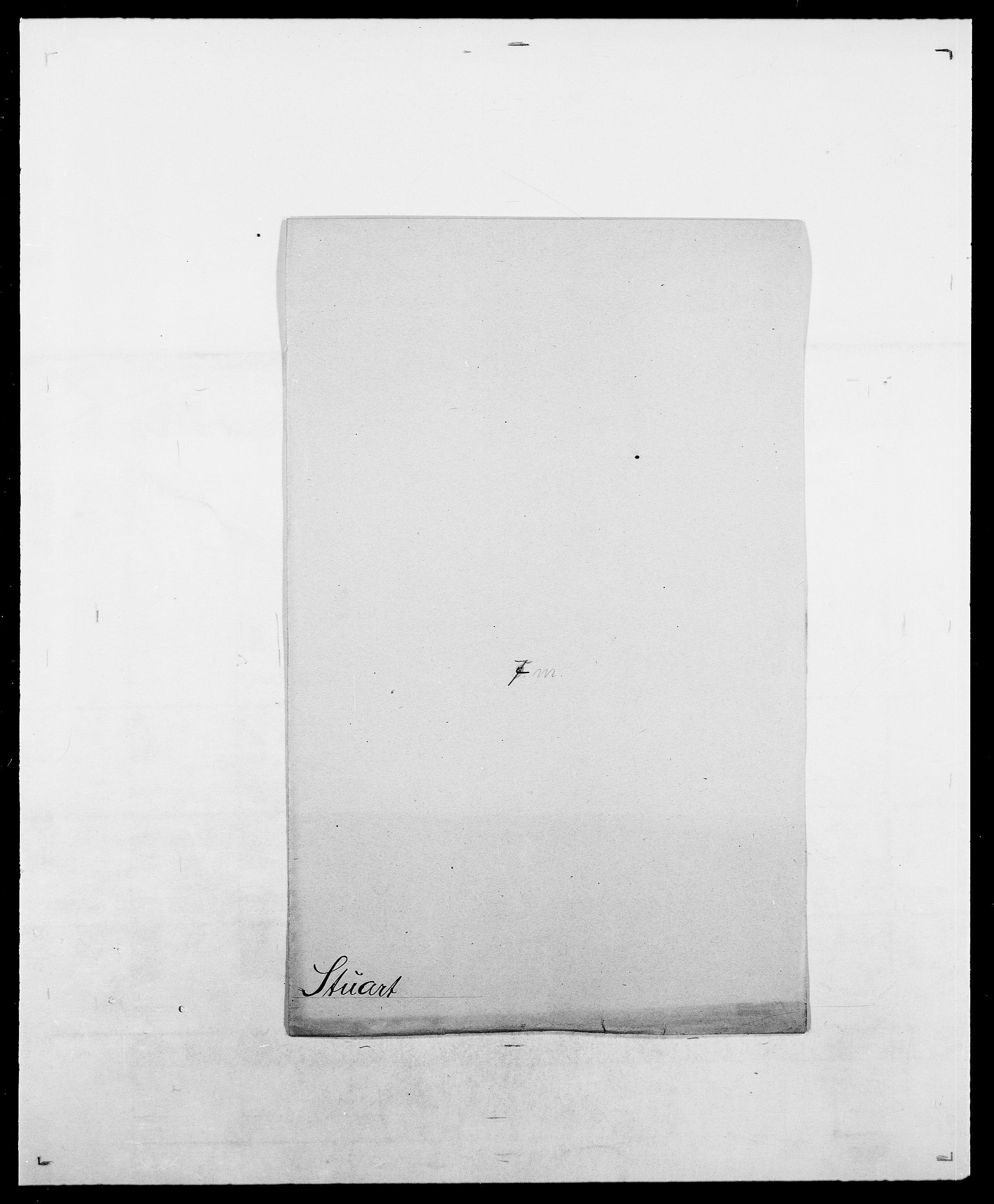 SAO, Delgobe, Charles Antoine - samling, D/Da/L0037: Steen, Sthen, Stein - Svare, Svanige, Svanne, se også Svanning og Schwane, s. 721
