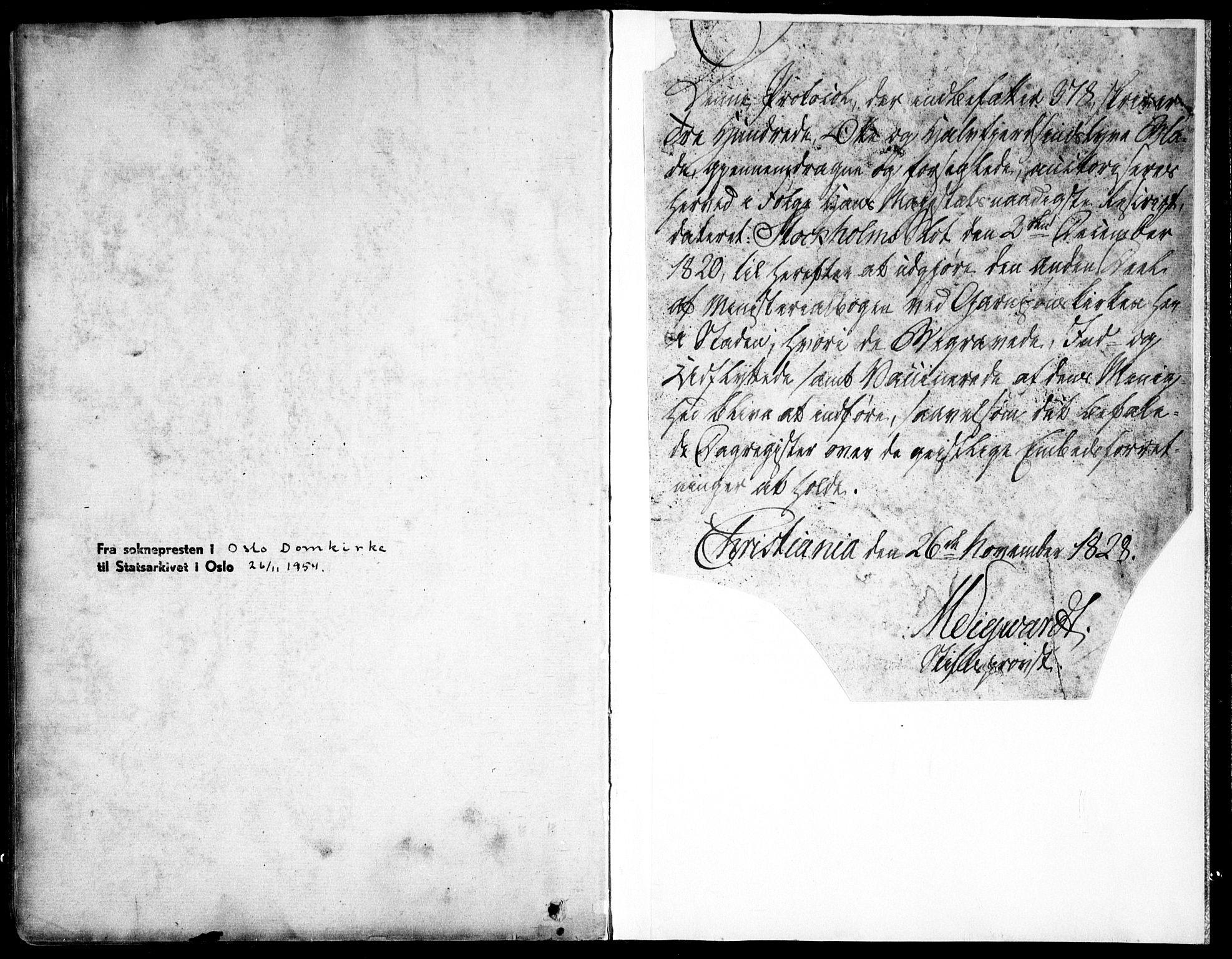 SAO, Garnisonsmenigheten Kirkebøker, F/Fa/L0007: Ministerialbok nr. 7, 1828-1881