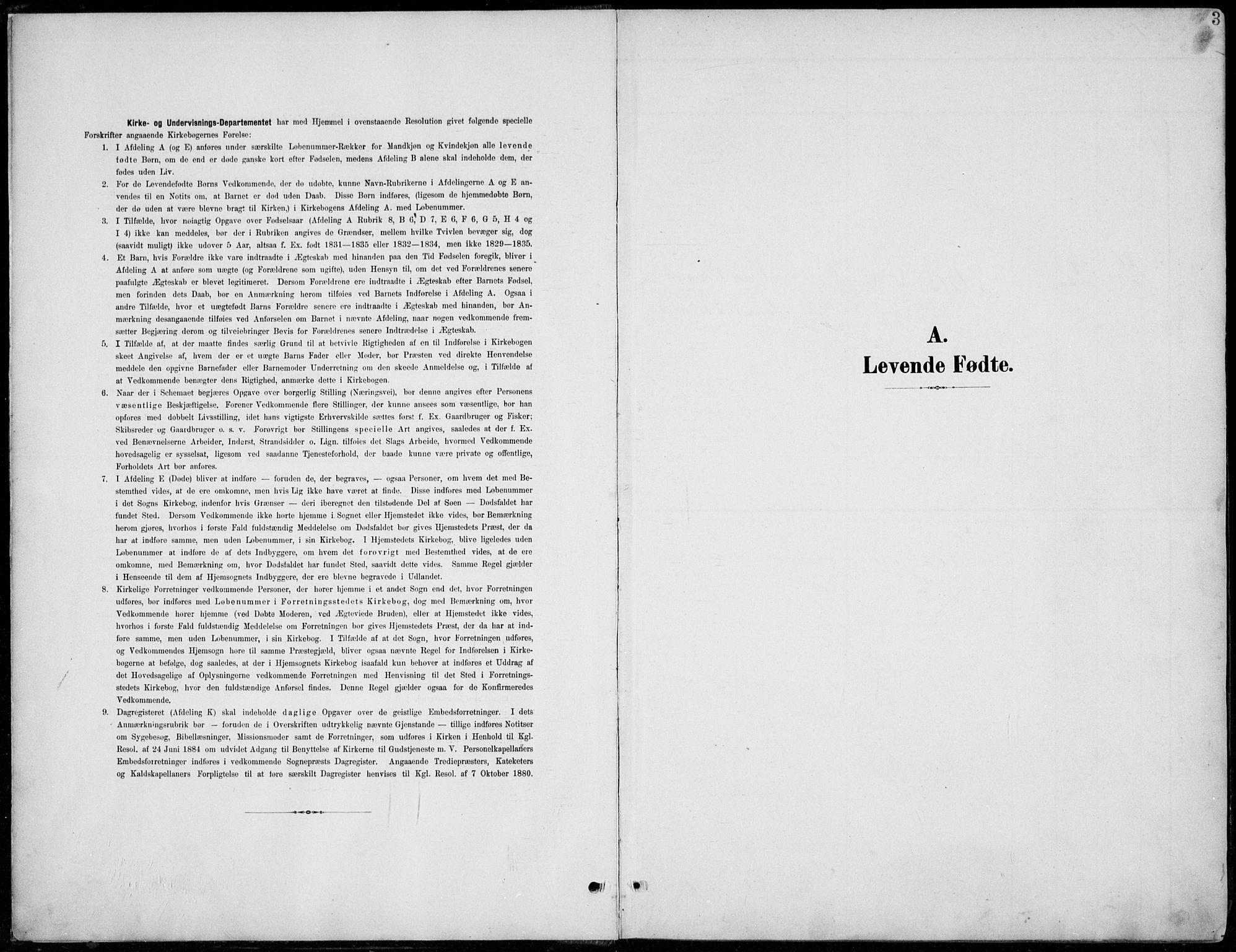 SAH, Lom prestekontor, L/L0006: Klokkerbok nr. 6, 1901-1939, s. 3