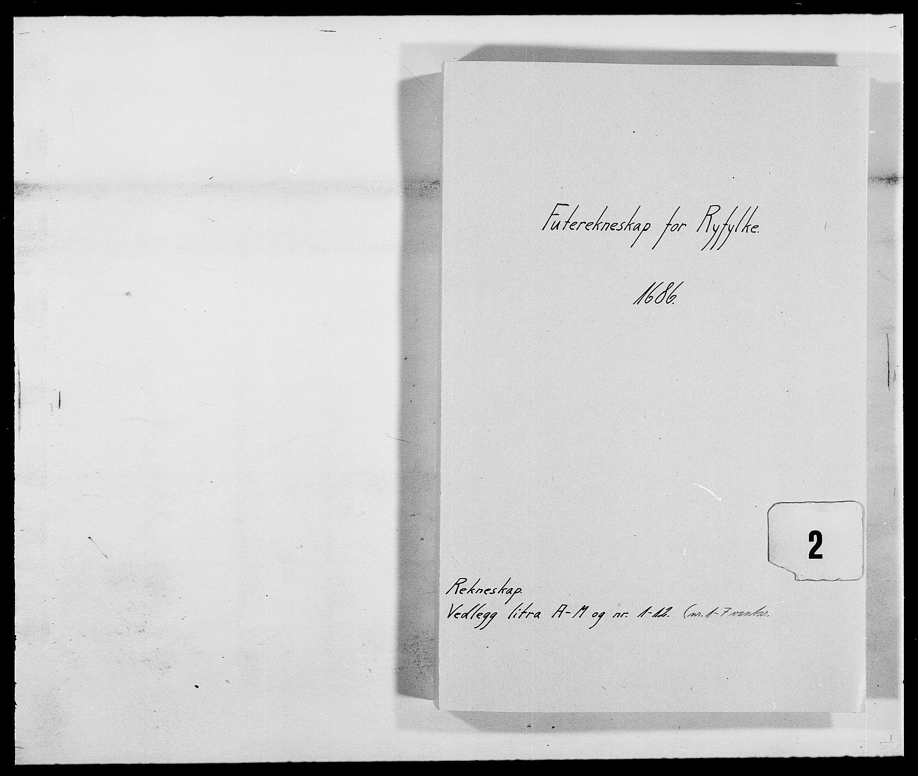 RA, Rentekammeret inntil 1814, Reviderte regnskaper, Fogderegnskap, R47/L2855: Fogderegnskap Ryfylke, 1685-1688, s. 118