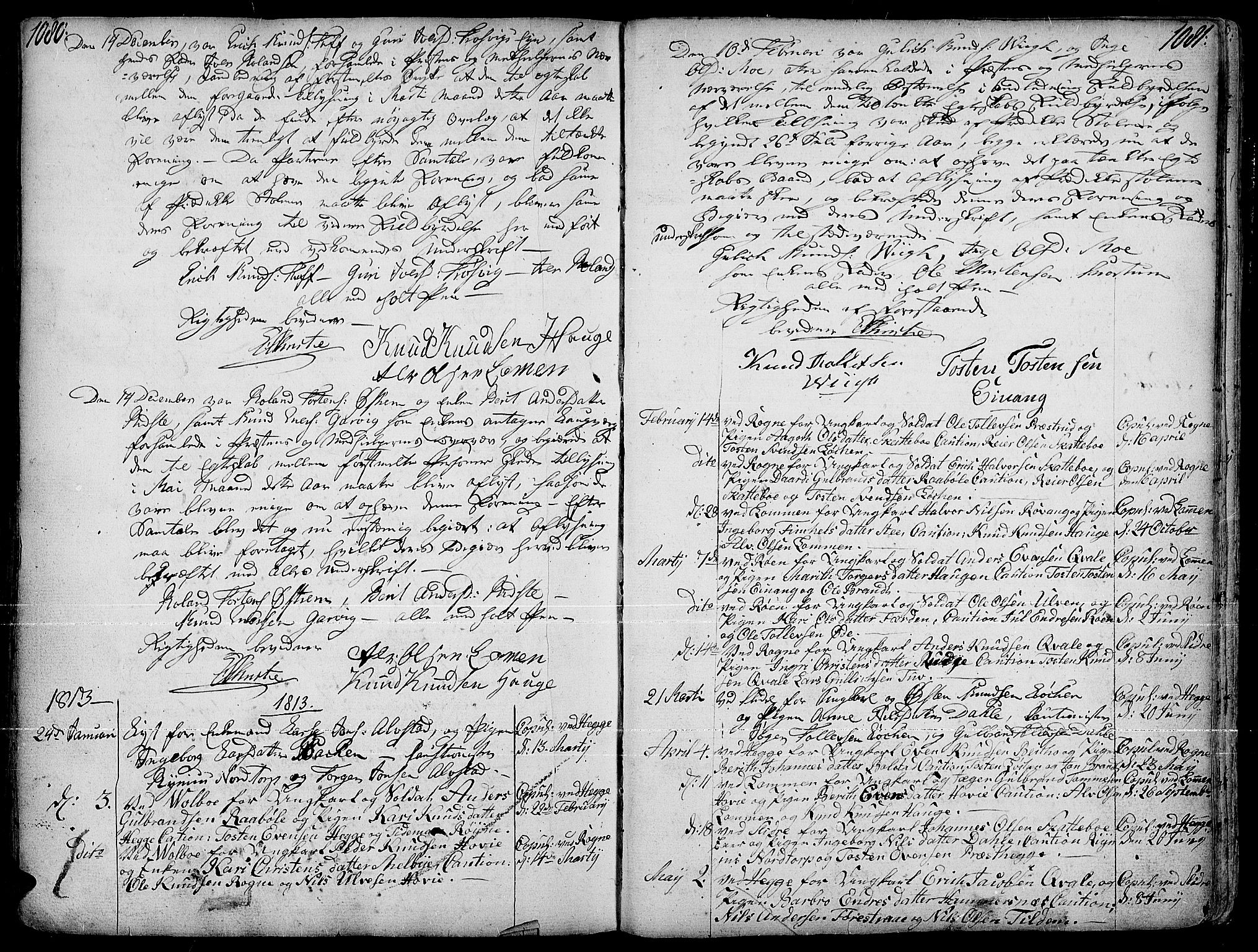 SAH, Slidre prestekontor, Ministerialbok nr. 1, 1724-1814, s. 1080-1081