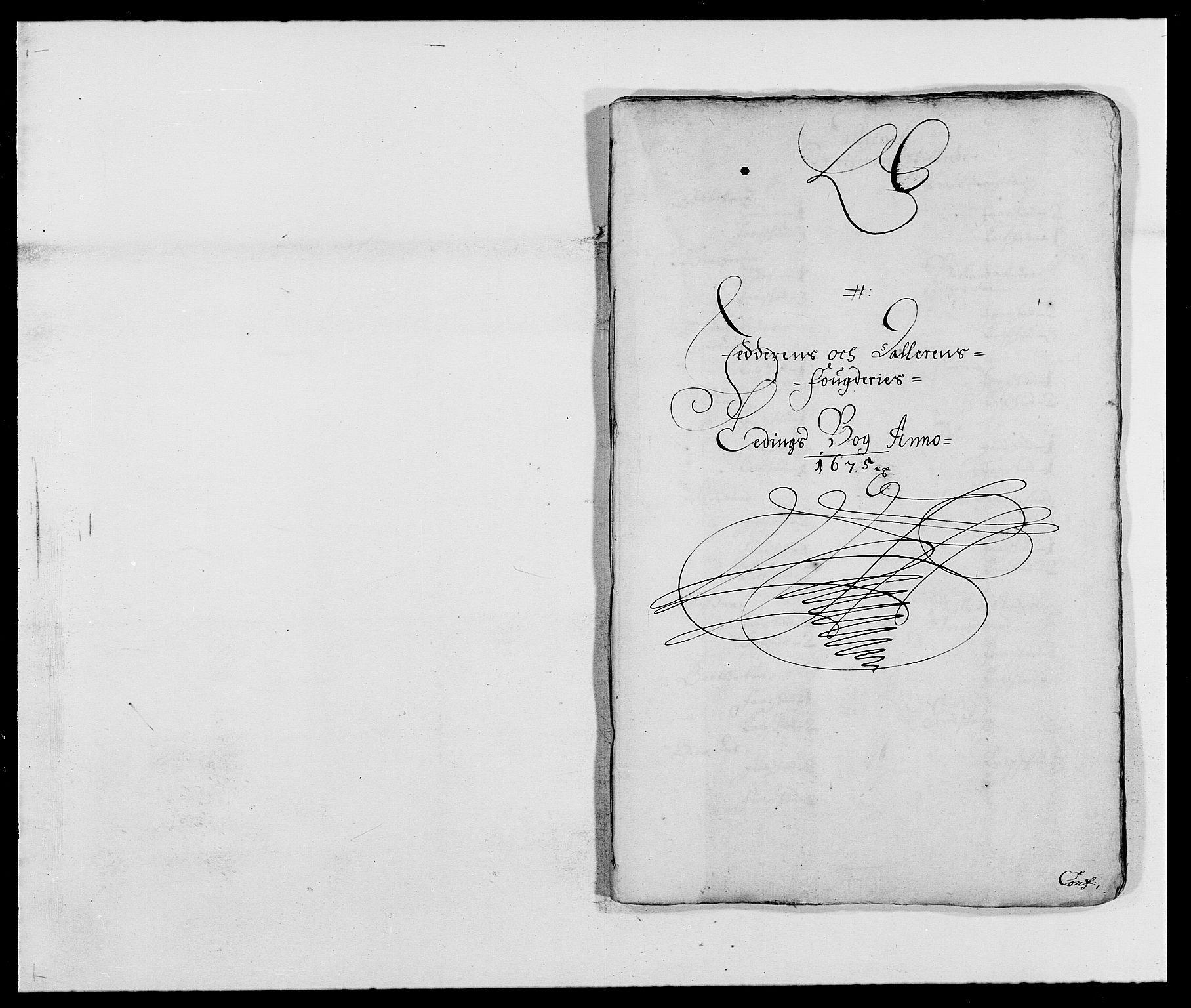 RA, Rentekammeret inntil 1814, Reviderte regnskaper, Fogderegnskap, R46/L2715: Fogderegnskap Jæren og Dalane, 1675, s. 100