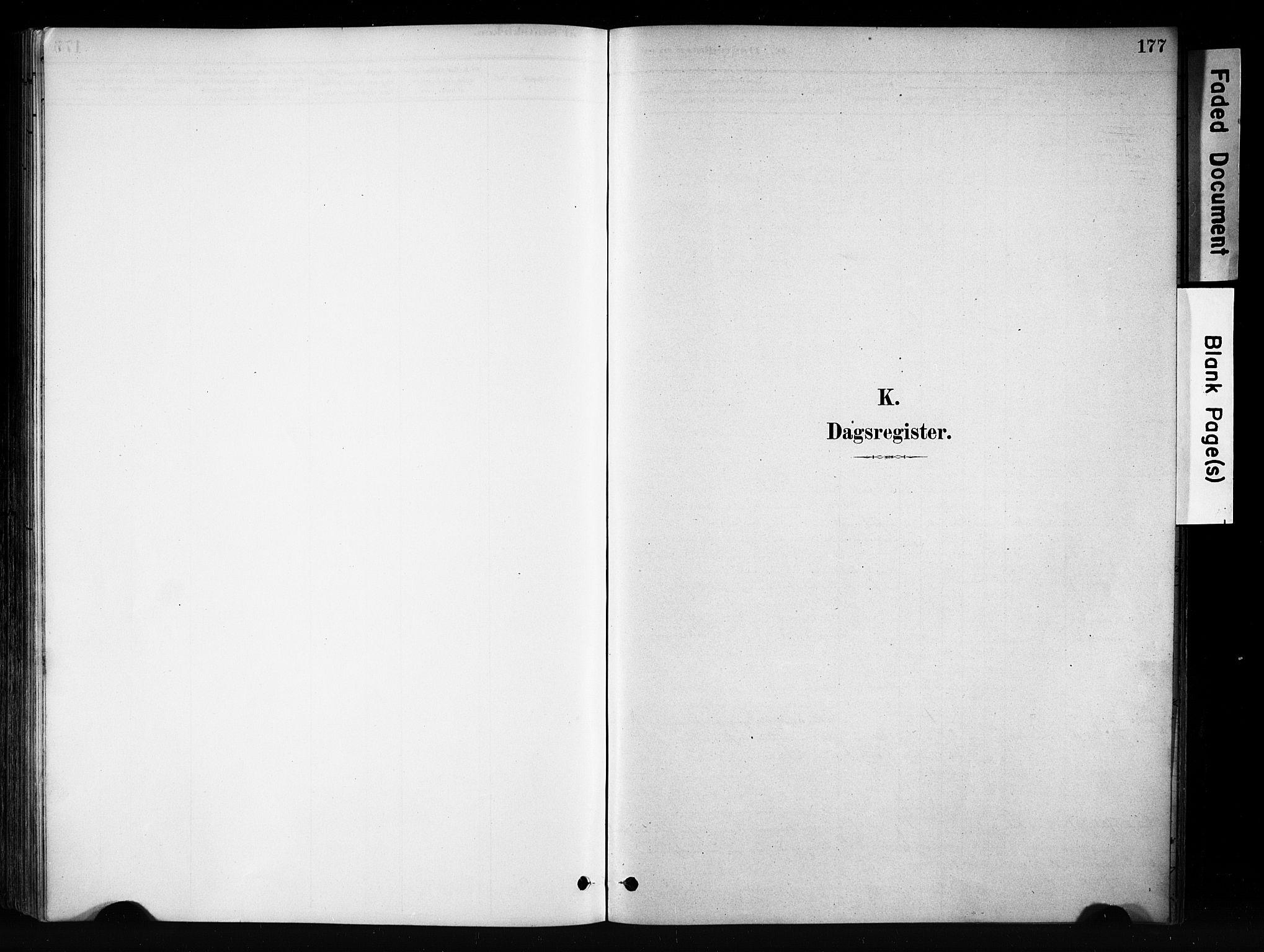 SAH, Vang prestekontor, Valdres, Ministerialbok nr. 9, 1882-1914, s. 177