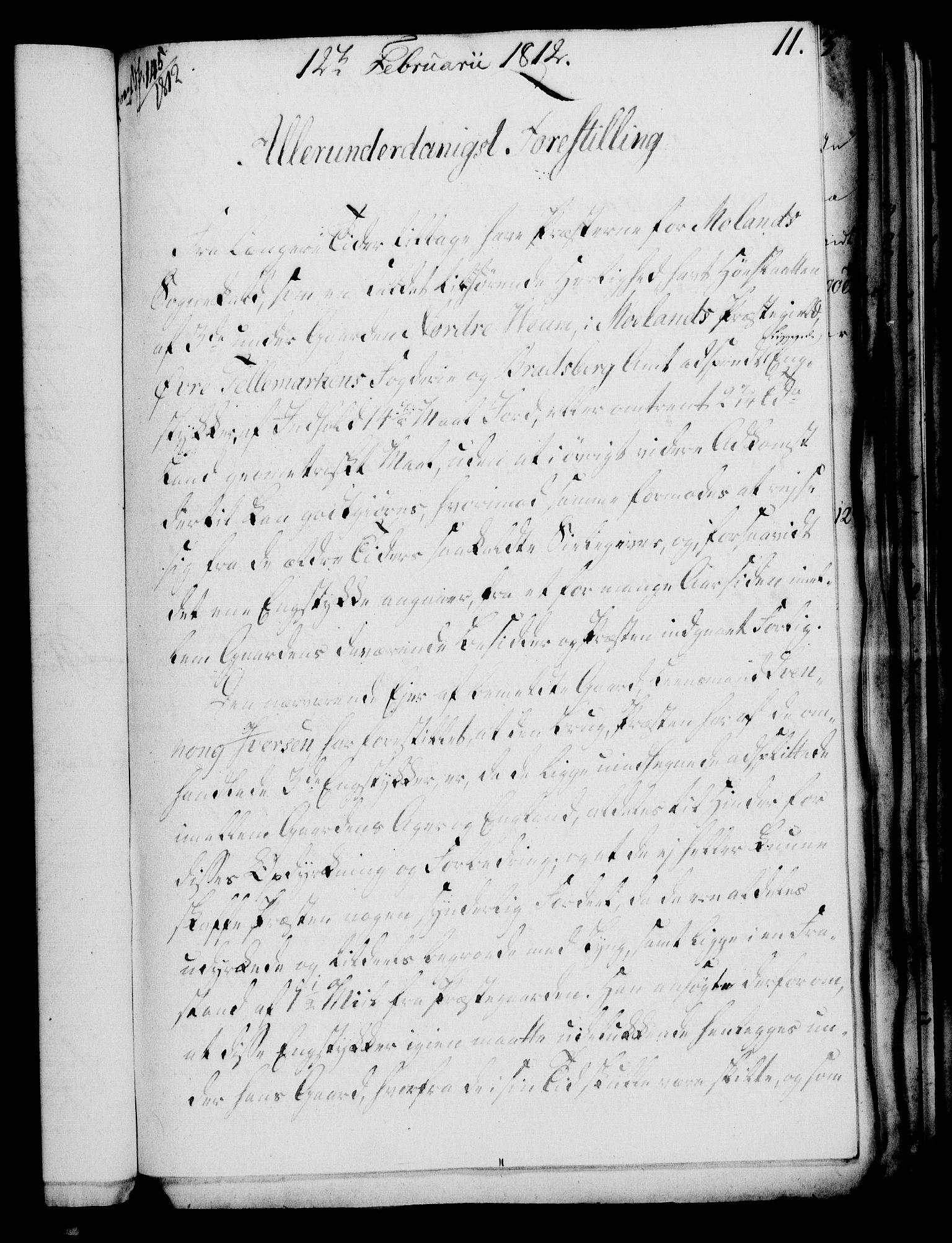 RA, Rentekammeret, Kammerkanselliet, G/Gf/Gfa/L0094: Norsk relasjons- og resolusjonsprotokoll (merket RK 52.94), 1812, s. 64
