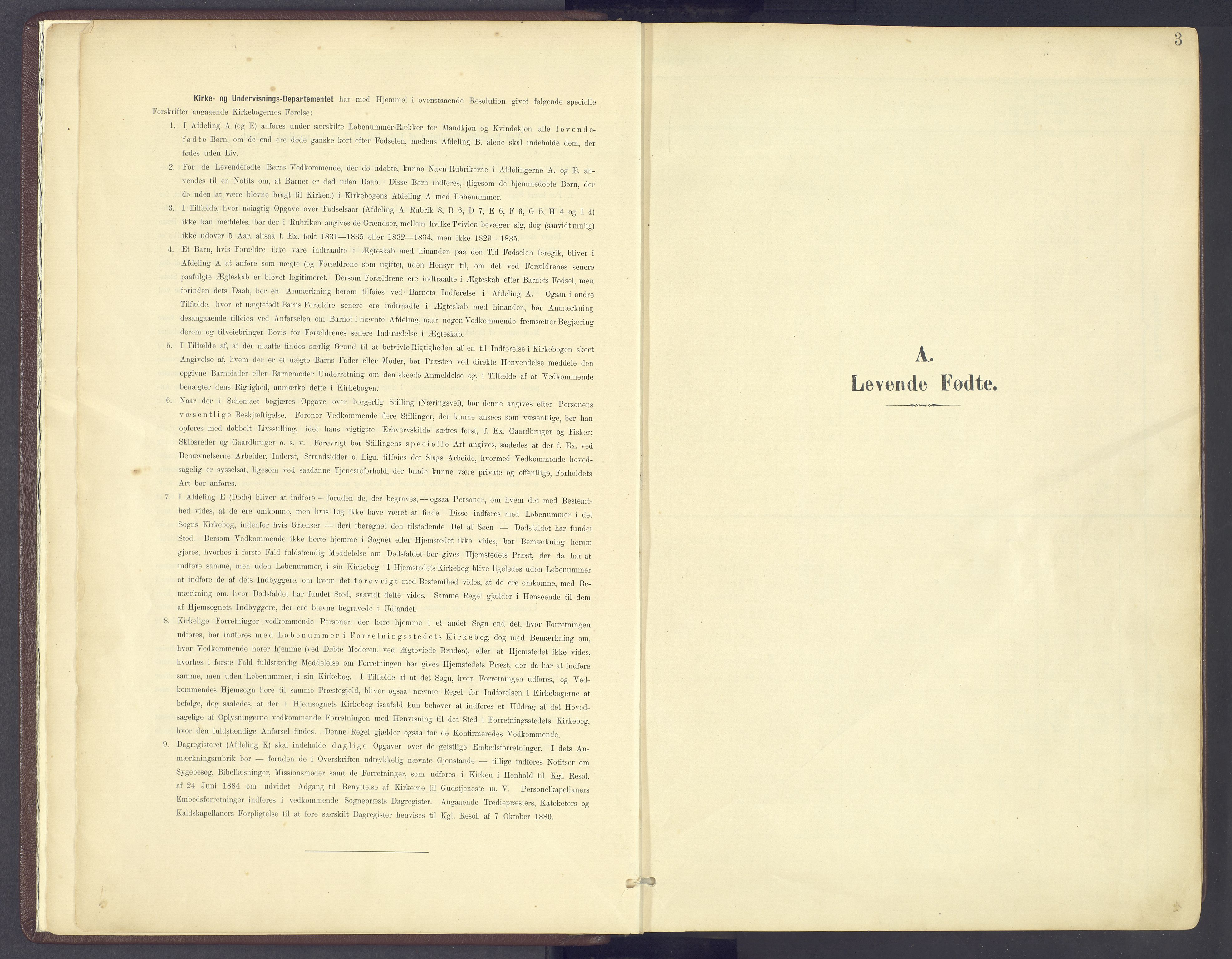 SAH, Sør-Fron prestekontor, H/Ha/Haa/L0004: Ministerialbok nr. 4, 1898-1919, s. 3