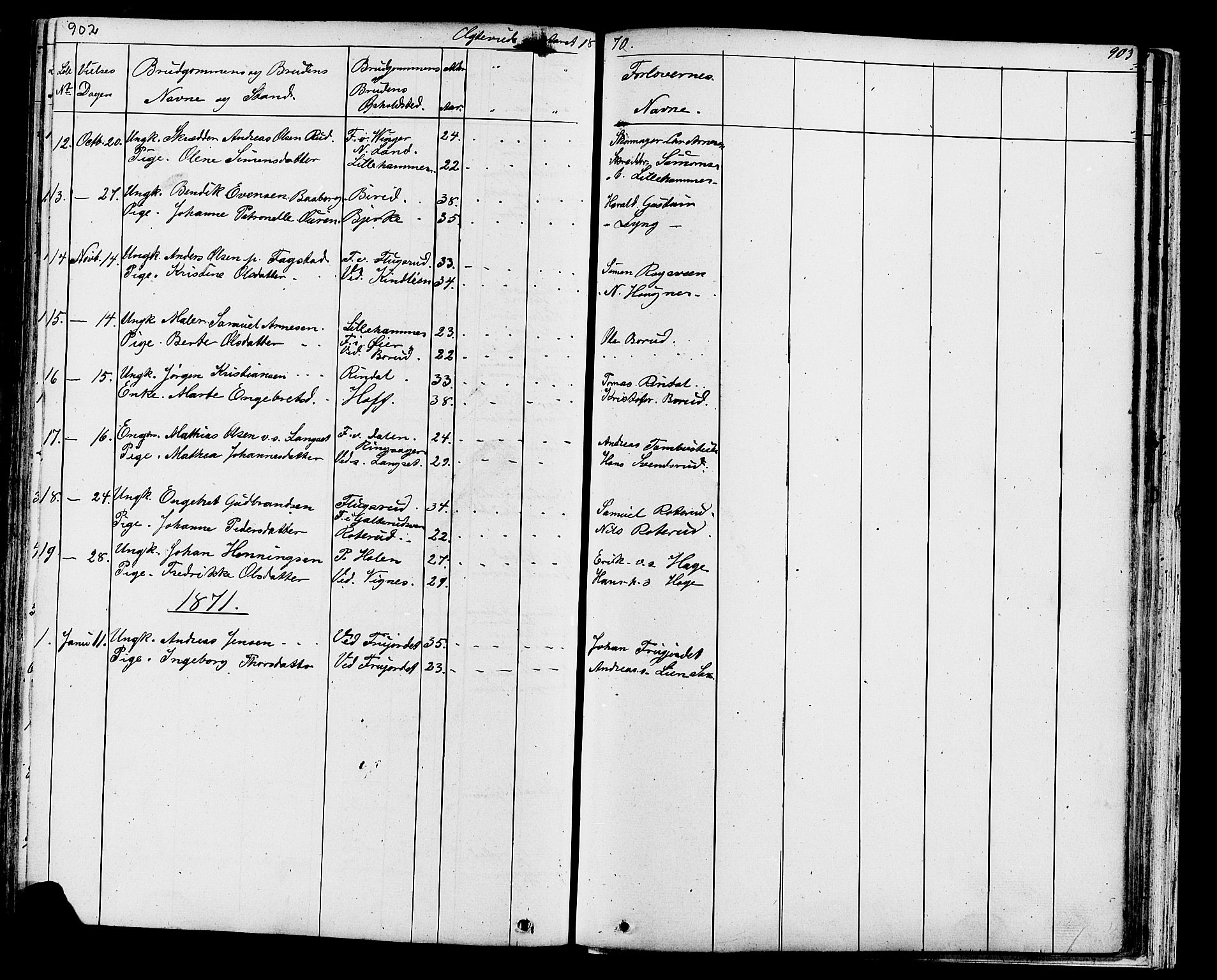 SAH, Fåberg prestekontor, Klokkerbok nr. 7, 1856-1891, s. 902-903