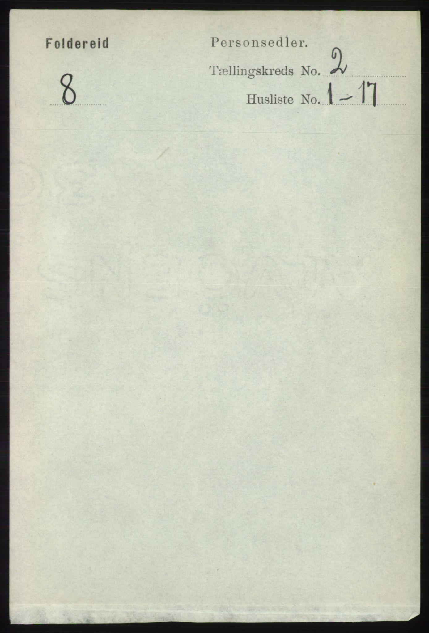 RA, Folketelling 1891 for 1753 Foldereid herred, 1891, s. 856
