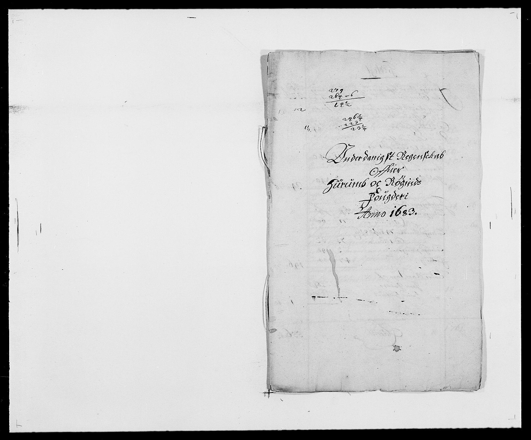 RA, Rentekammeret inntil 1814, Reviderte regnskaper, Fogderegnskap, R29/L1692: Fogderegnskap Hurum og Røyken, 1682-1687, s. 109