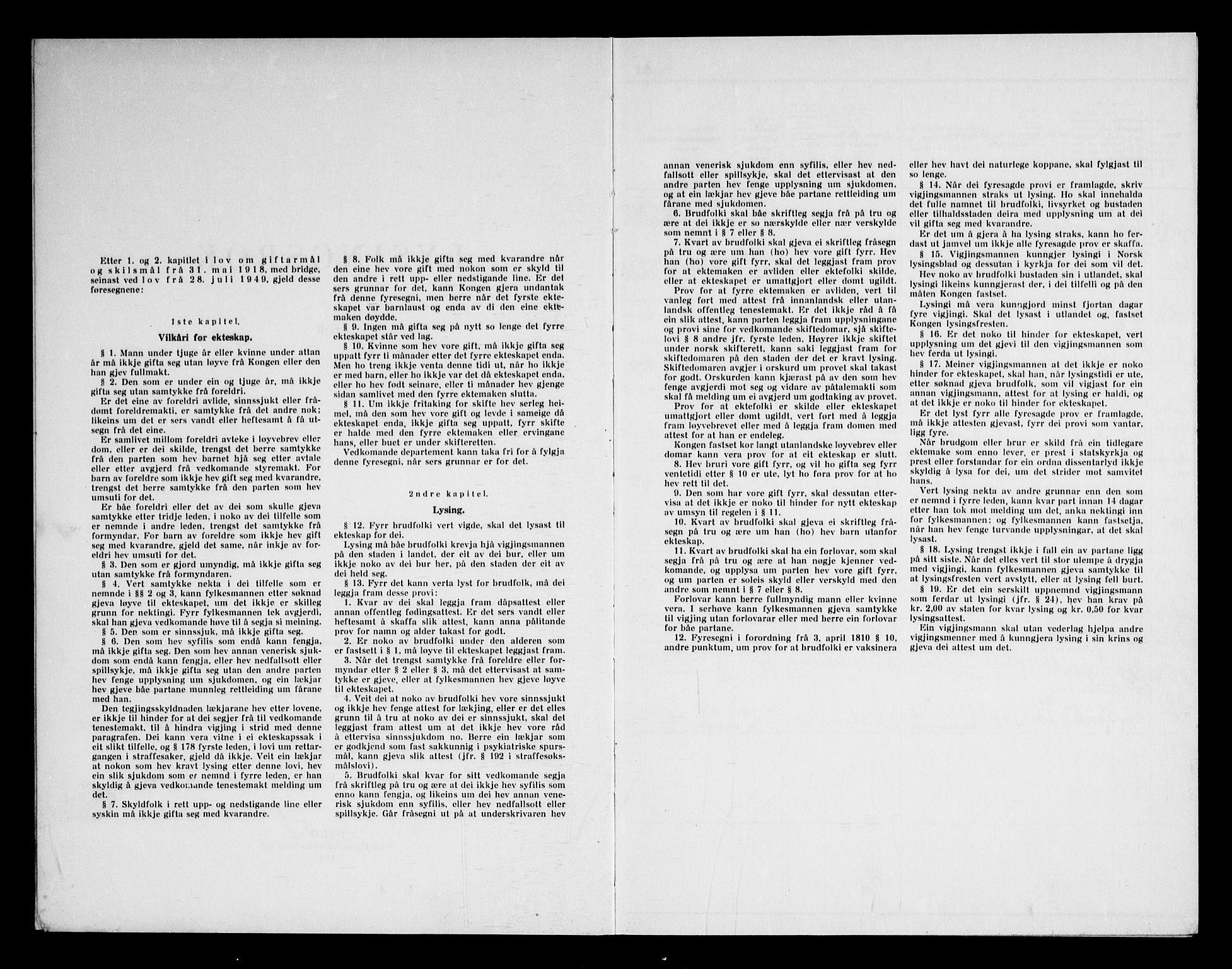 SAKO, Bø kirkebøker, H/Ha/L0002: Lysningsprotokoll nr. 2, 1964-1969