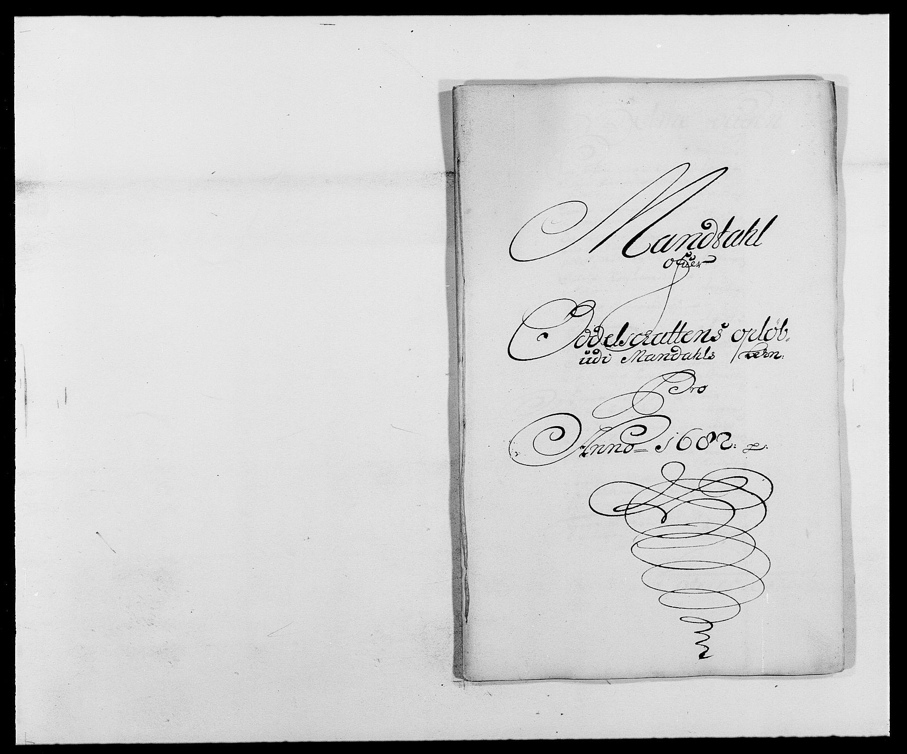 RA, Rentekammeret inntil 1814, Reviderte regnskaper, Fogderegnskap, R42/L2541: Mandal fogderi, 1681-1684, s. 99