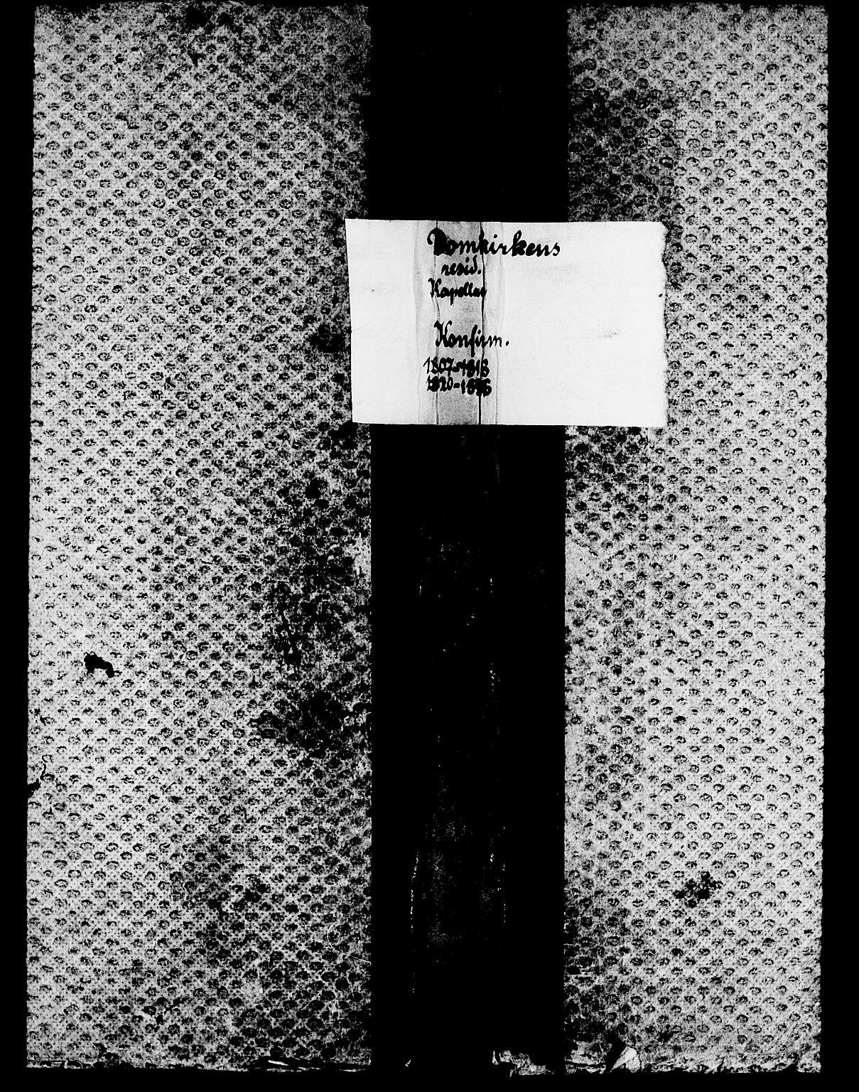 SAT, Ministerialprotokoller, klokkerbøker og fødselsregistre - Sør-Trøndelag, 601/L0069: Residerende kapellans bok nr. 601B02, 1807-1836