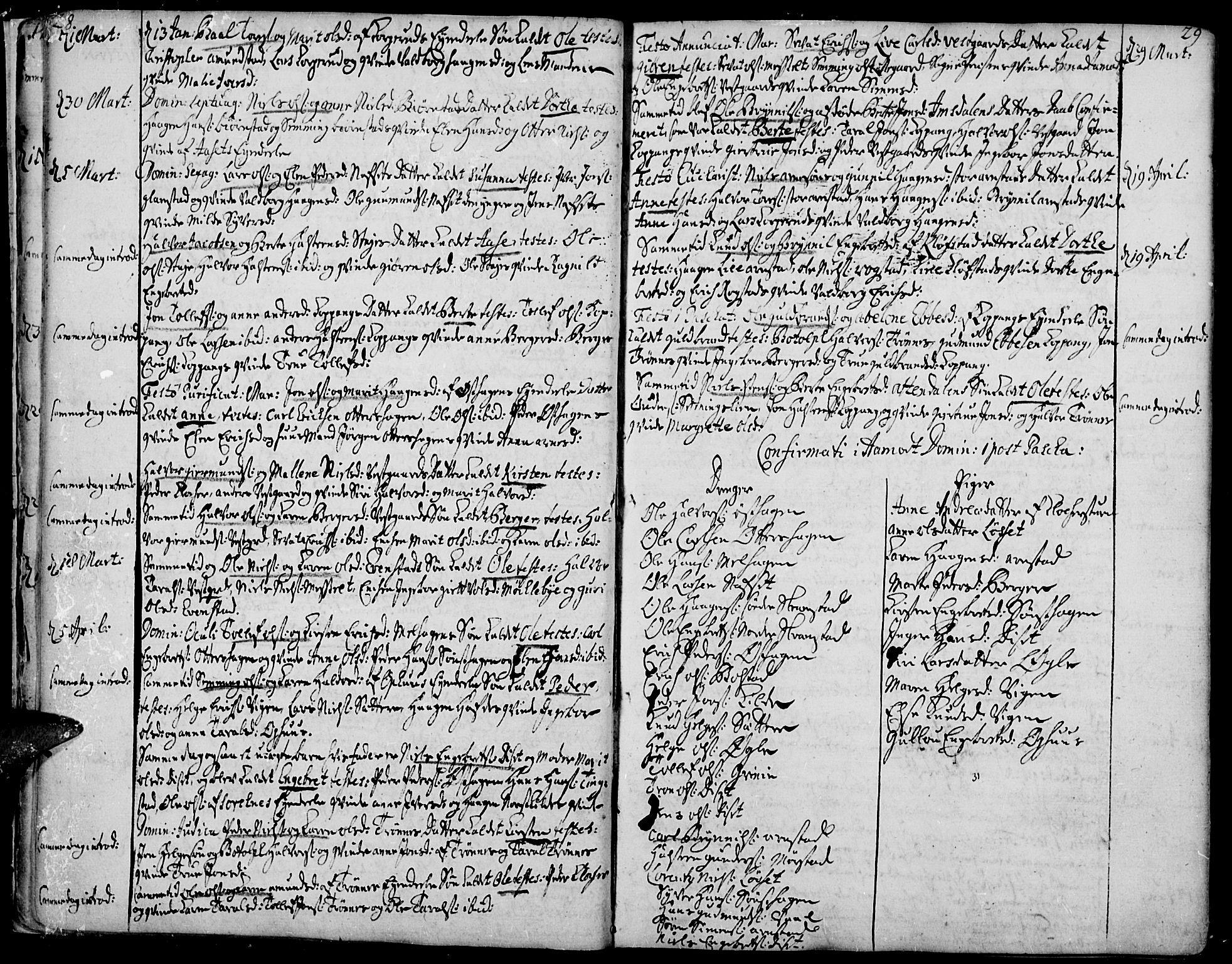 SAH, Åmot prestekontor, Ministerialbok nr. 2, 1734-1779, s. 28-29