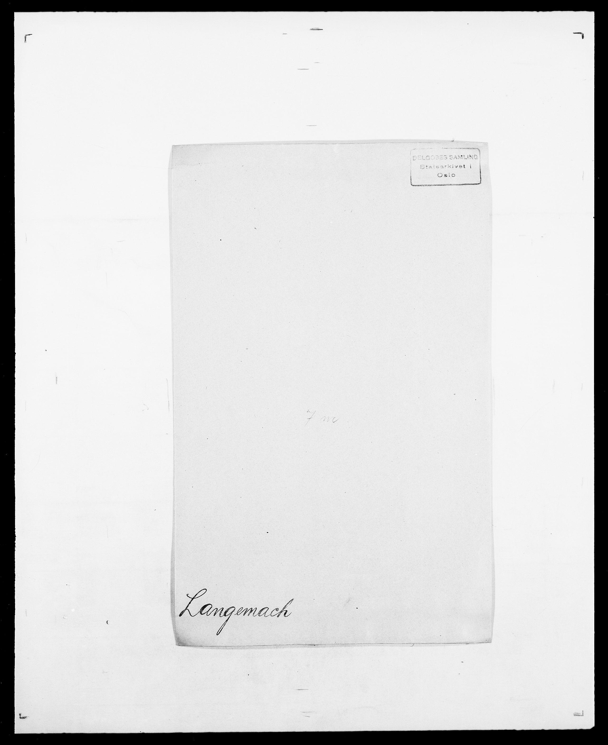 SAO, Delgobe, Charles Antoine - samling, D/Da/L0022: Krog - Lasteen, s. 679
