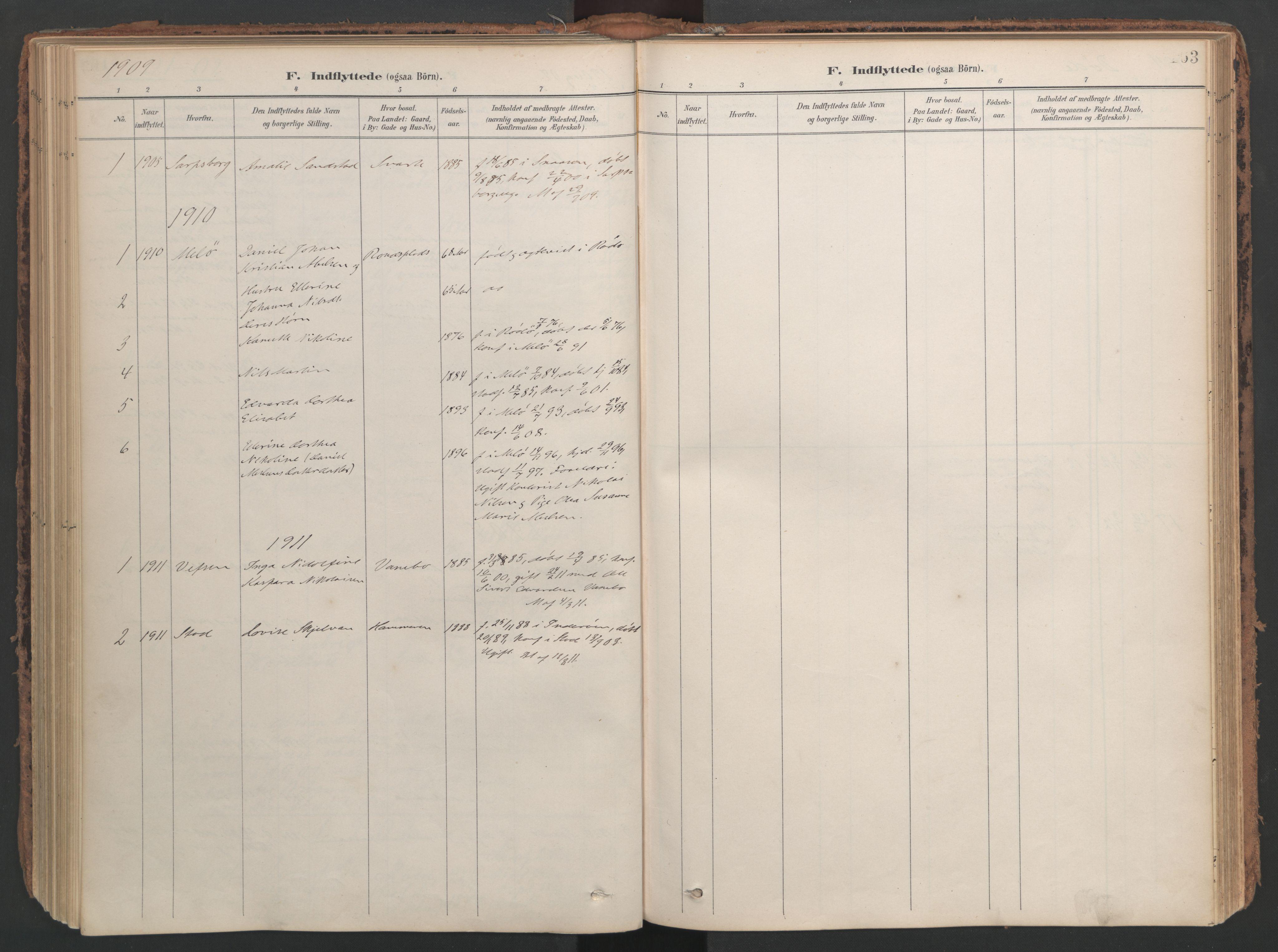 SAT, Ministerialprotokoller, klokkerbøker og fødselsregistre - Nord-Trøndelag, 741/L0397: Ministerialbok nr. 741A11, 1901-1911, s. 163