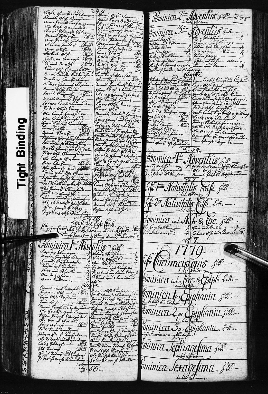 SAH, Fåberg prestekontor, Klokkerbok nr. 3, 1768-1796, s. 294-295