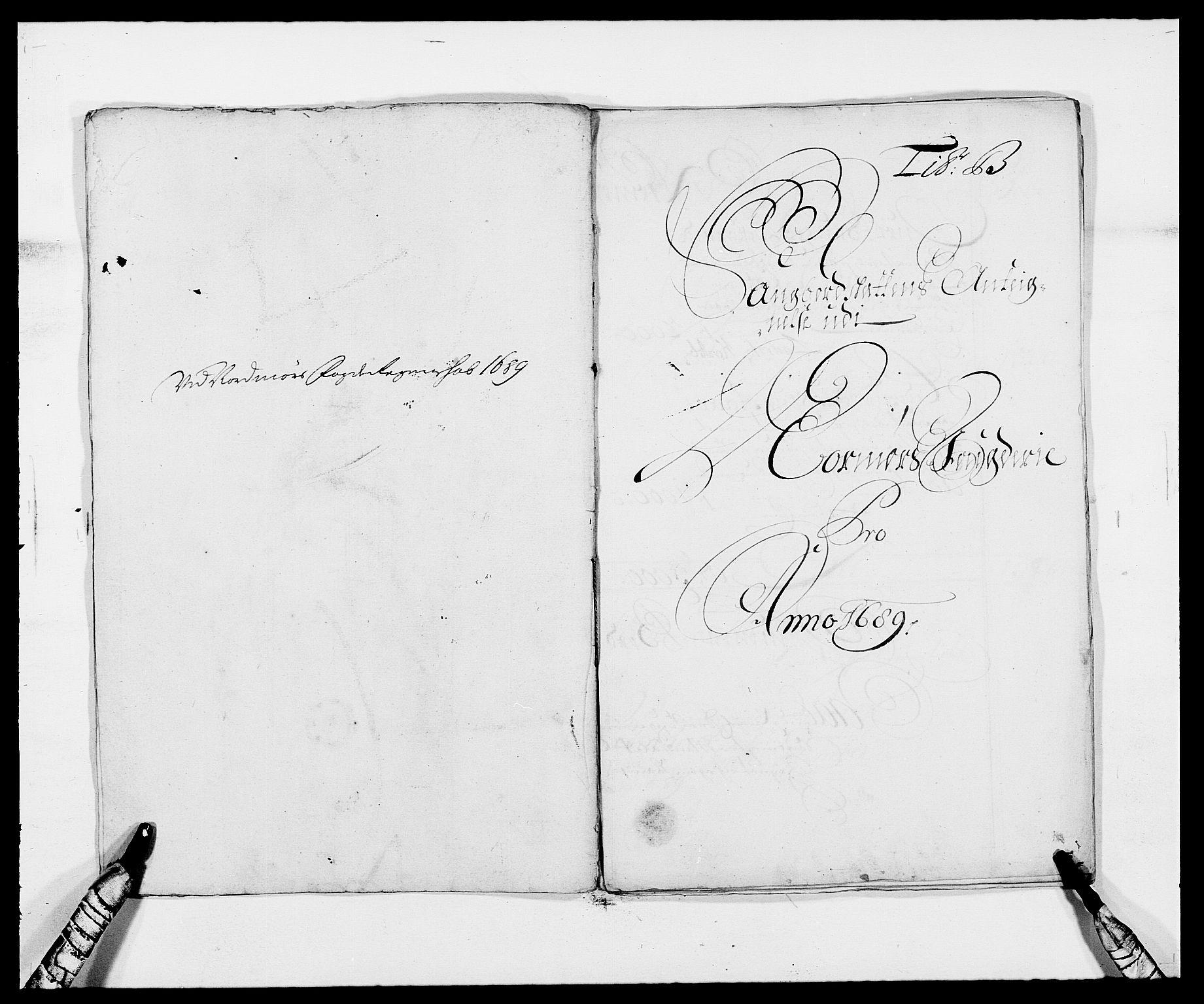 RA, Rentekammeret inntil 1814, Reviderte regnskaper, Fogderegnskap, R56/L3733: Fogderegnskap Nordmøre, 1687-1689, s. 356