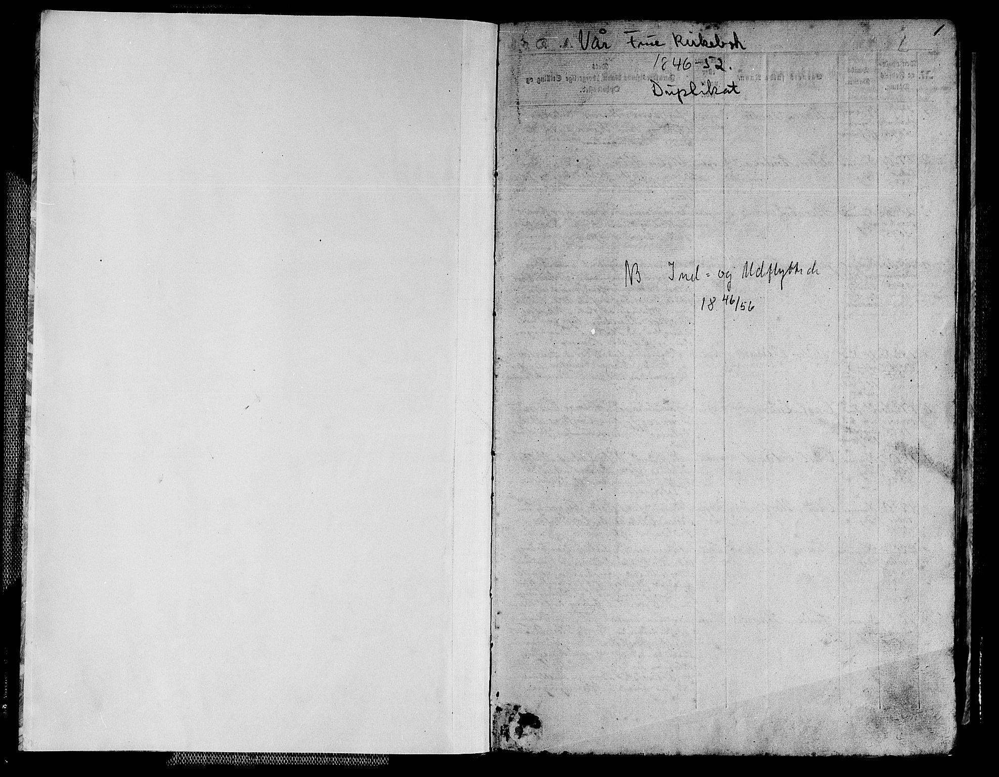 SAT, Ministerialprotokoller, klokkerbøker og fødselsregistre - Sør-Trøndelag, 602/L0137: Klokkerbok nr. 602C05, 1846-1856, s. 1