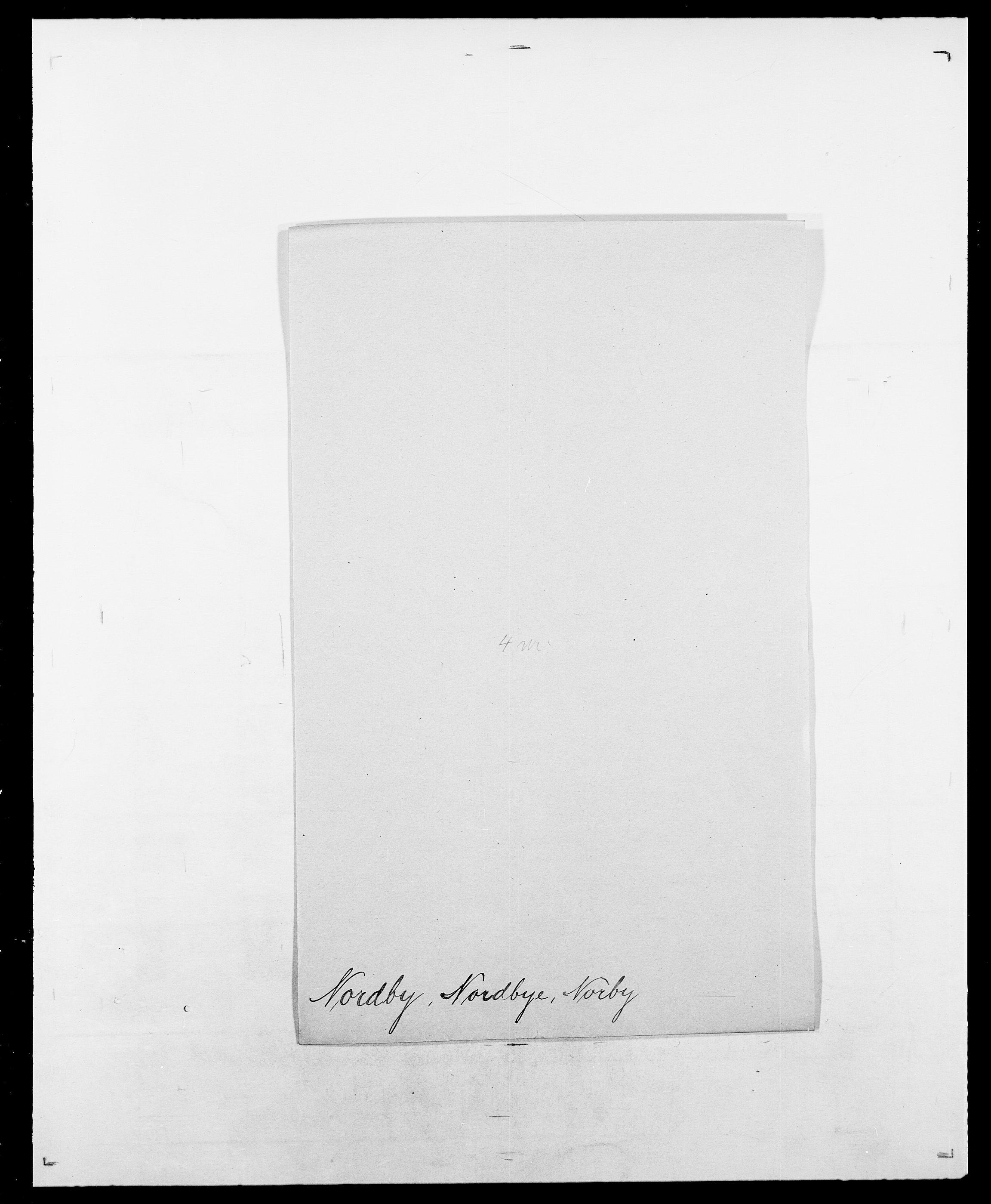 SAO, Delgobe, Charles Antoine - samling, D/Da/L0028: Naaden - Nøvik, s. 421