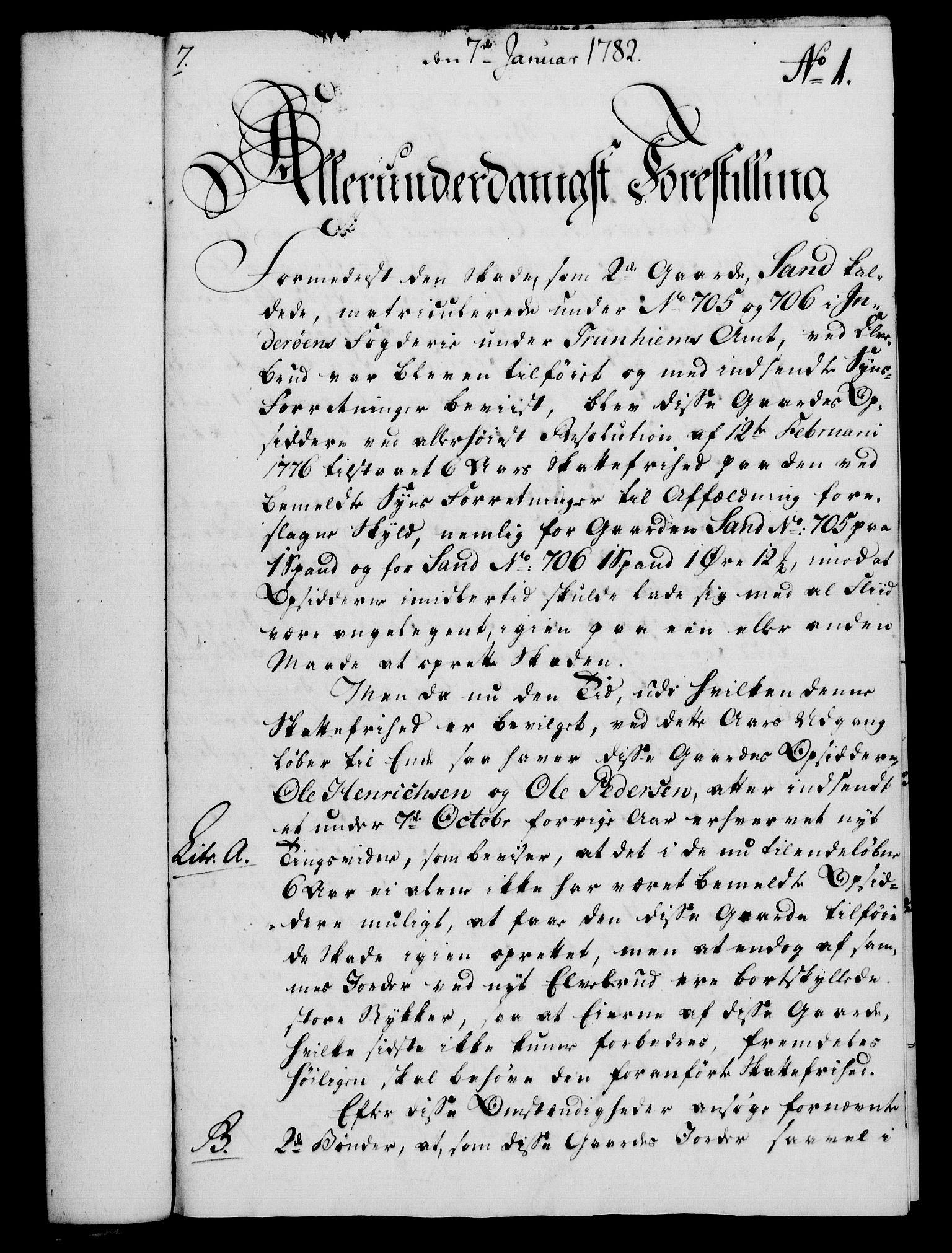 RA, Rentekammeret, Kammerkanselliet, G/Gf/Gfa/L0064: Norsk relasjons- og resolusjonsprotokoll (merket RK 52.64), 1782, s. 29