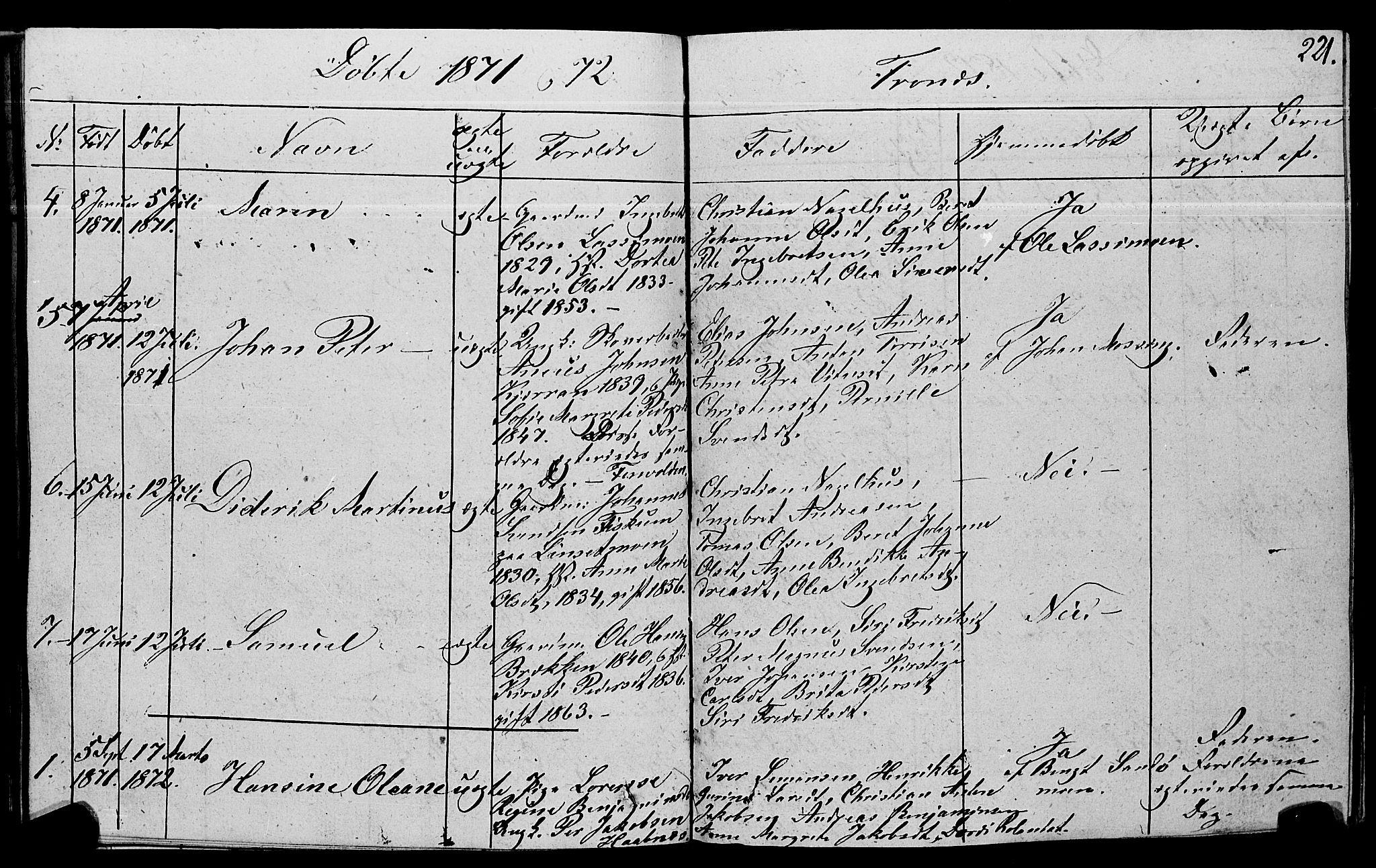 SAT, Ministerialprotokoller, klokkerbøker og fødselsregistre - Nord-Trøndelag, 762/L0538: Ministerialbok nr. 762A02 /2, 1833-1879, s. 221
