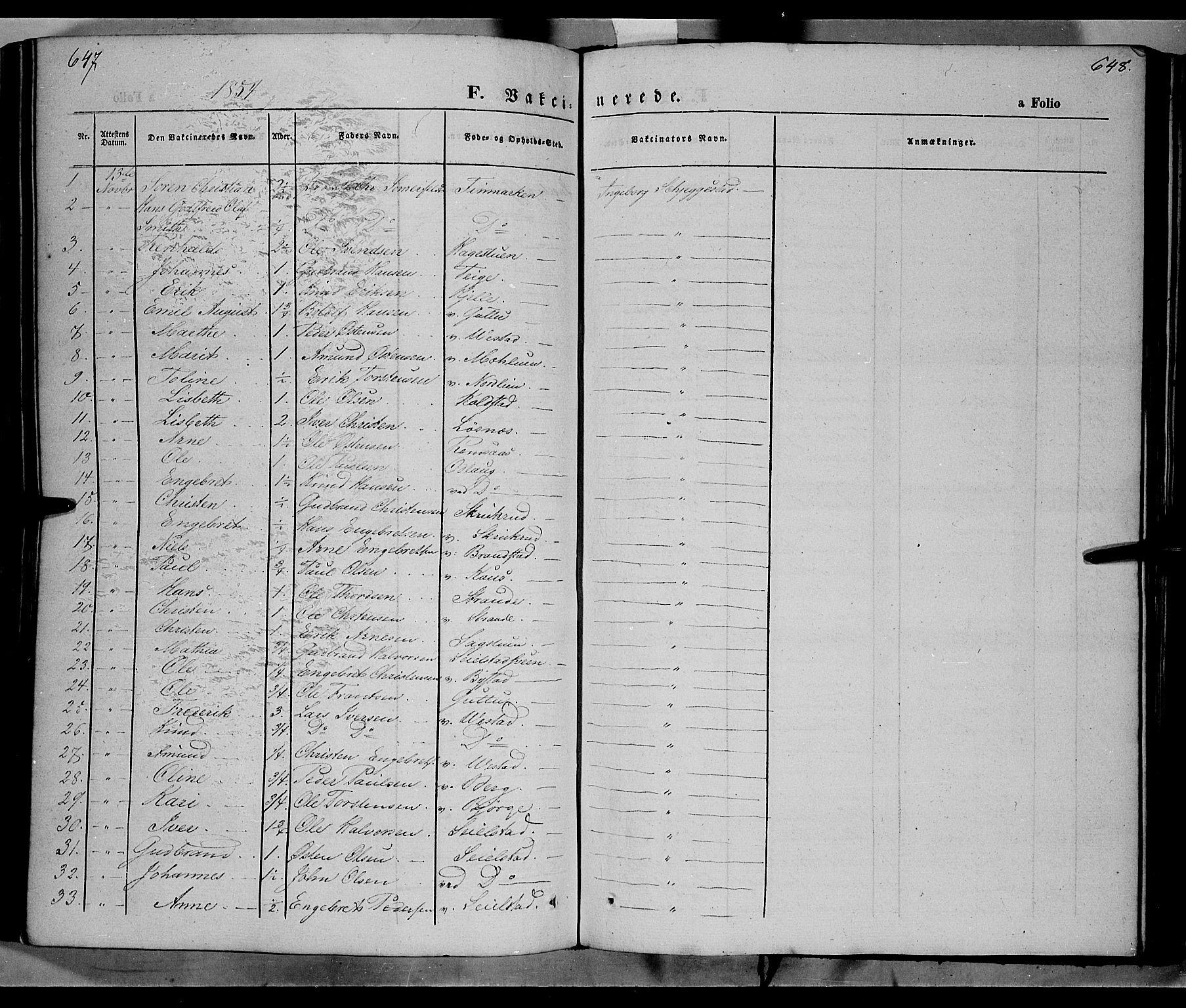 SAH, Ringebu prestekontor, Ministerialbok nr. 6, 1848-1859, s. 647-648
