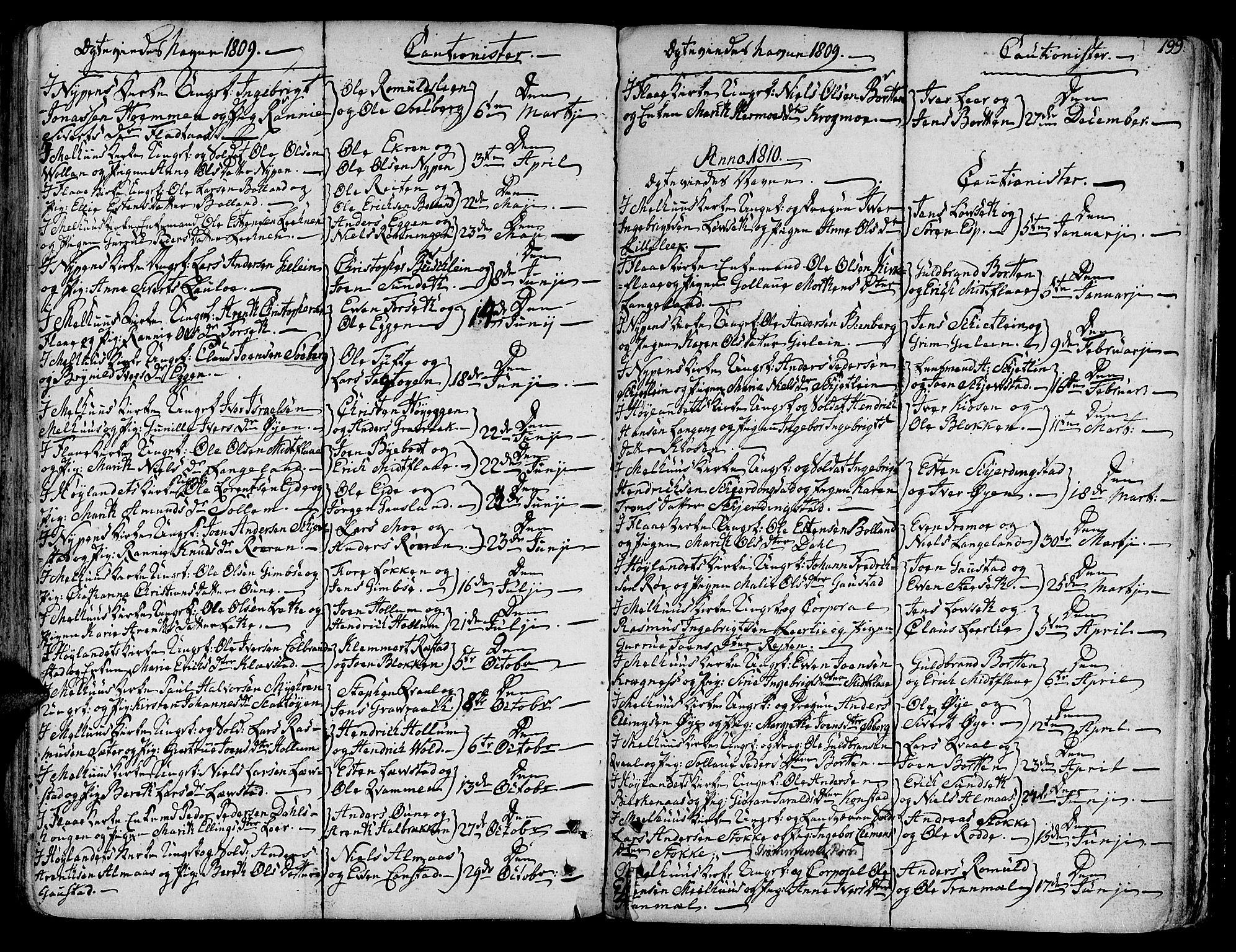 SAT, Ministerialprotokoller, klokkerbøker og fødselsregistre - Sør-Trøndelag, 691/L1061: Ministerialbok nr. 691A02 /1, 1768-1815, s. 199