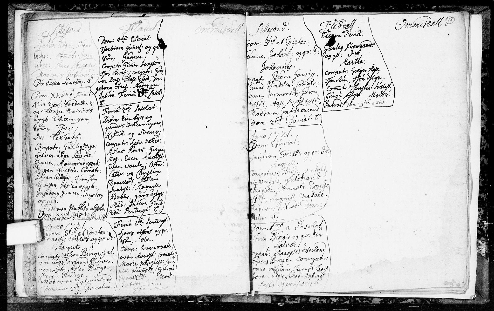 SAKO, Seljord kirkebøker, F/Fa/L0003: Ministerialbok nr. I 3, 1714-1725, s. 18