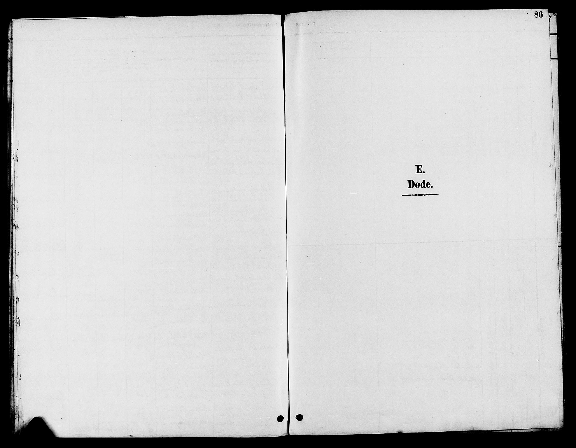SAH, Nord-Aurdal prestekontor, Klokkerbok nr. 10, 1892-1907, s. 86