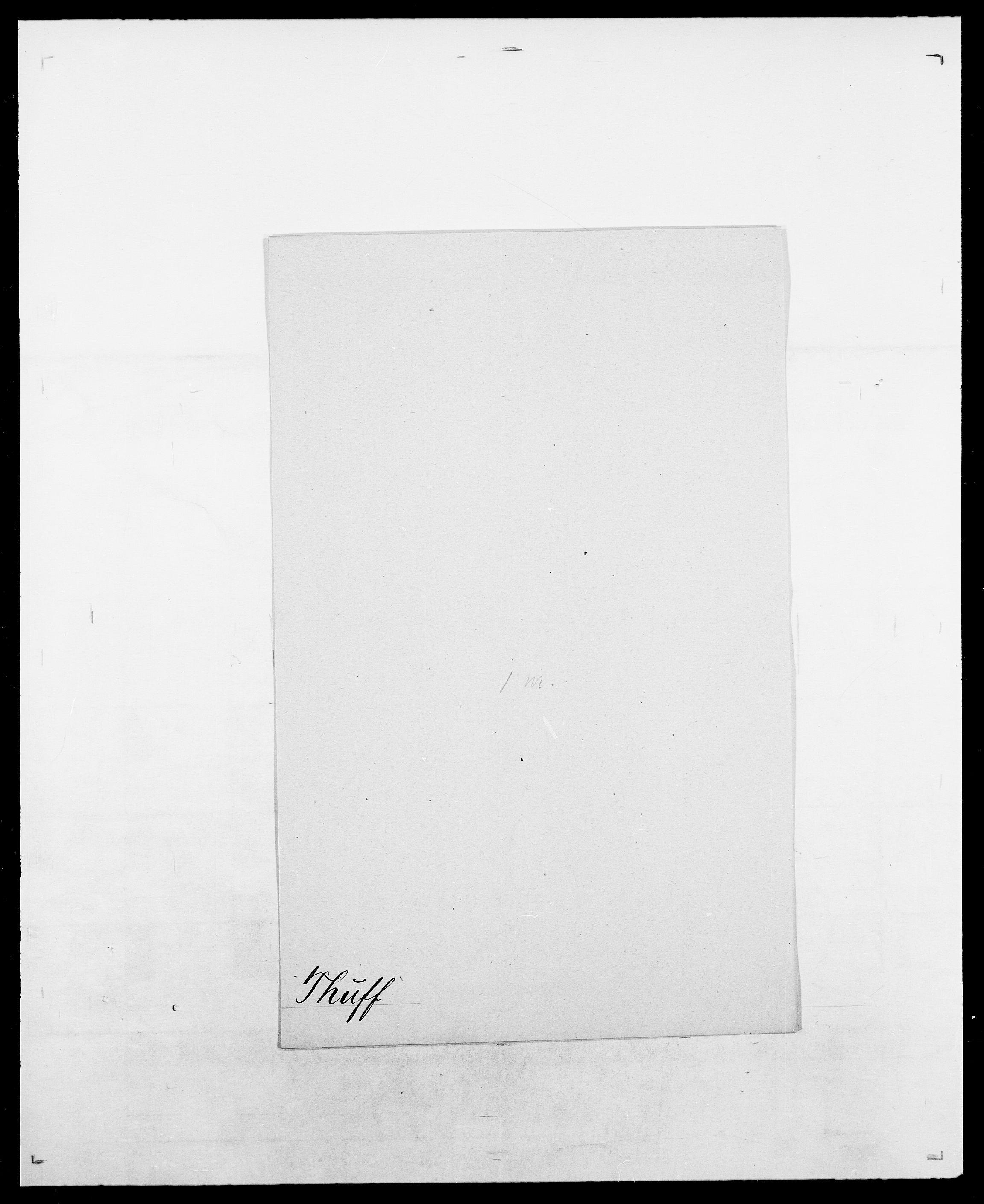 SAO, Delgobe, Charles Antoine - samling, D/Da/L0038: Svanenskjold - Thornsohn, s. 1014