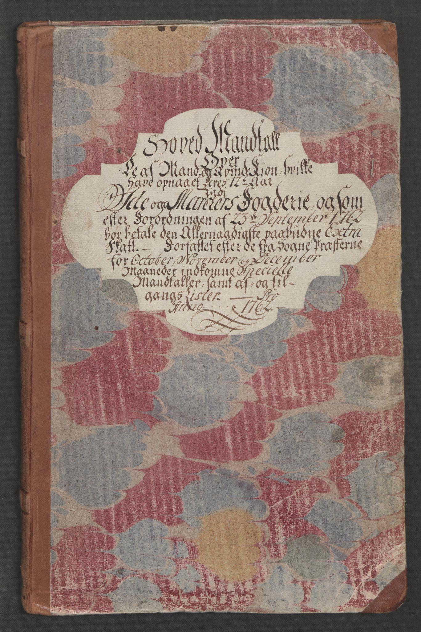 RA, Rentekammeret inntil 1814, Reviderte regnskaper, Fogderegnskap, R01/L0097: Ekstraskatten Idd og Marker, 1756-1767, s. 12