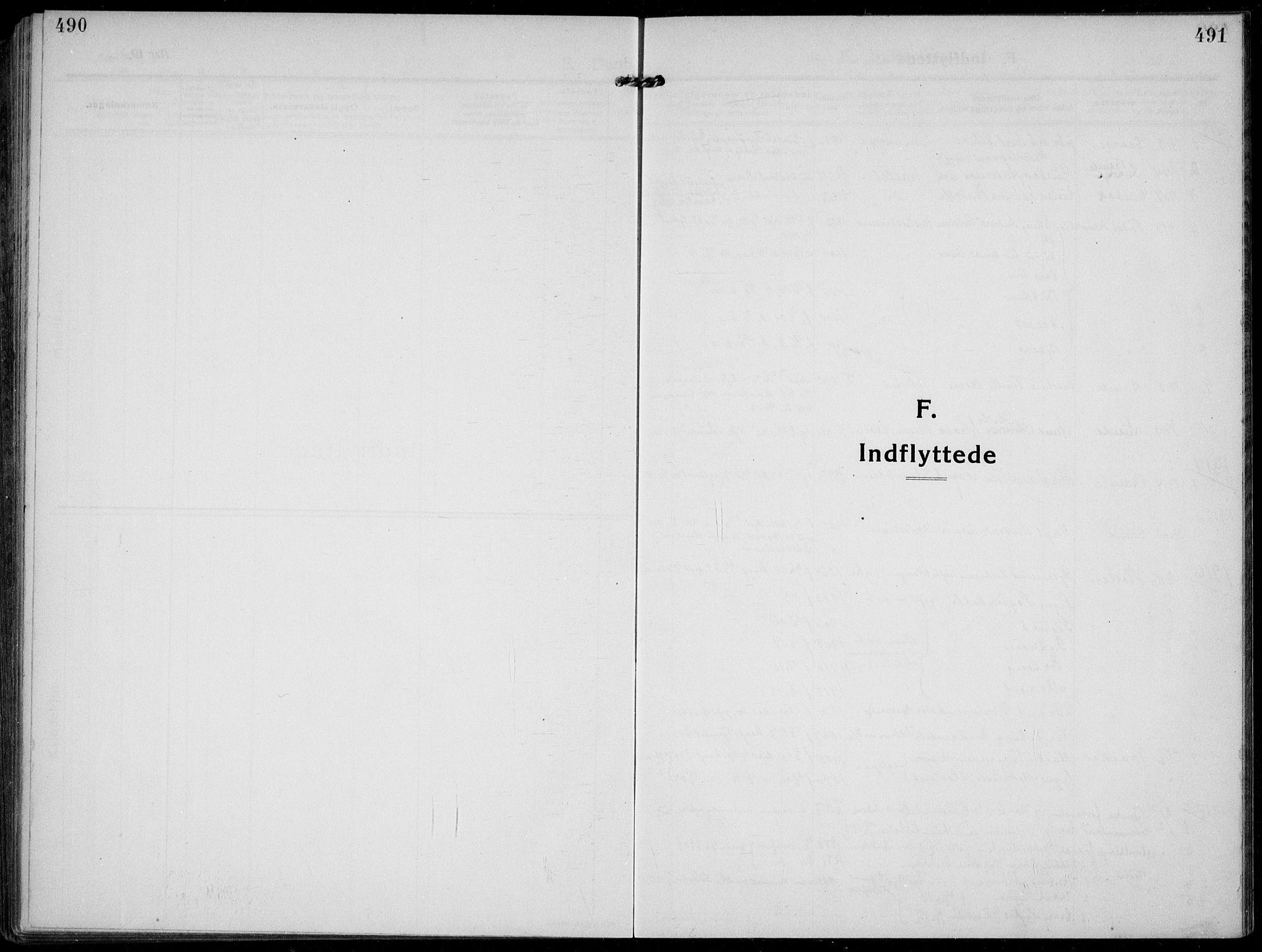 SAKO, Solum kirkebøker, F/Fb/L0004: Ministerialbok nr. II 4, 1913-1924, s. 490-491