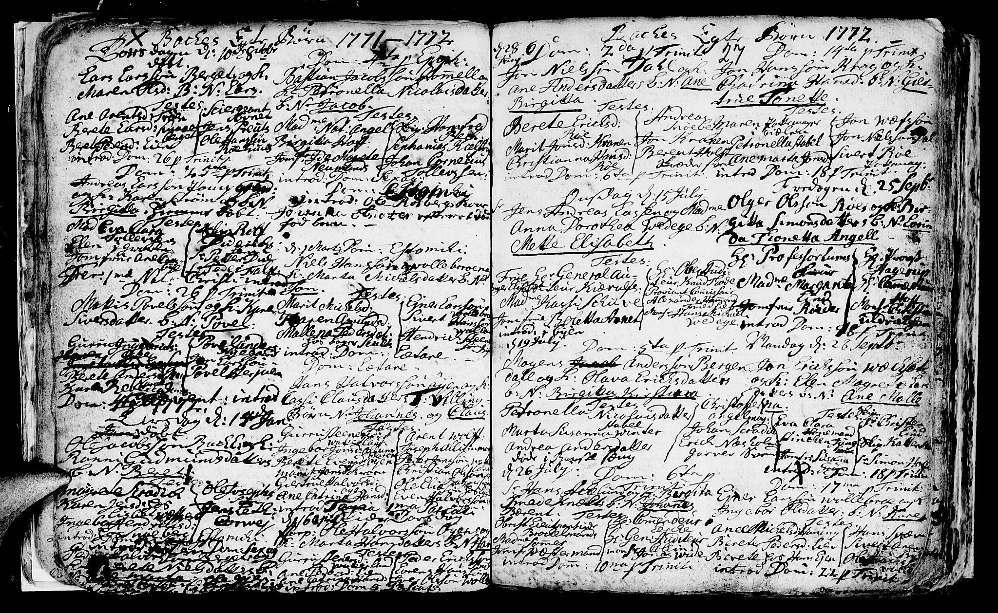 SAT, Ministerialprotokoller, klokkerbøker og fødselsregistre - Sør-Trøndelag, 604/L0218: Klokkerbok nr. 604C01, 1754-1819, s. 27