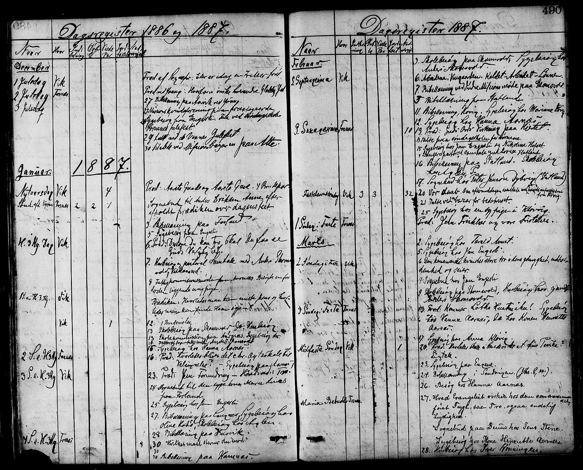 SAT, Ministerialprotokoller, klokkerbøker og fødselsregistre - Nord-Trøndelag, 773/L0616: Ministerialbok nr. 773A07, 1870-1887, s. 490