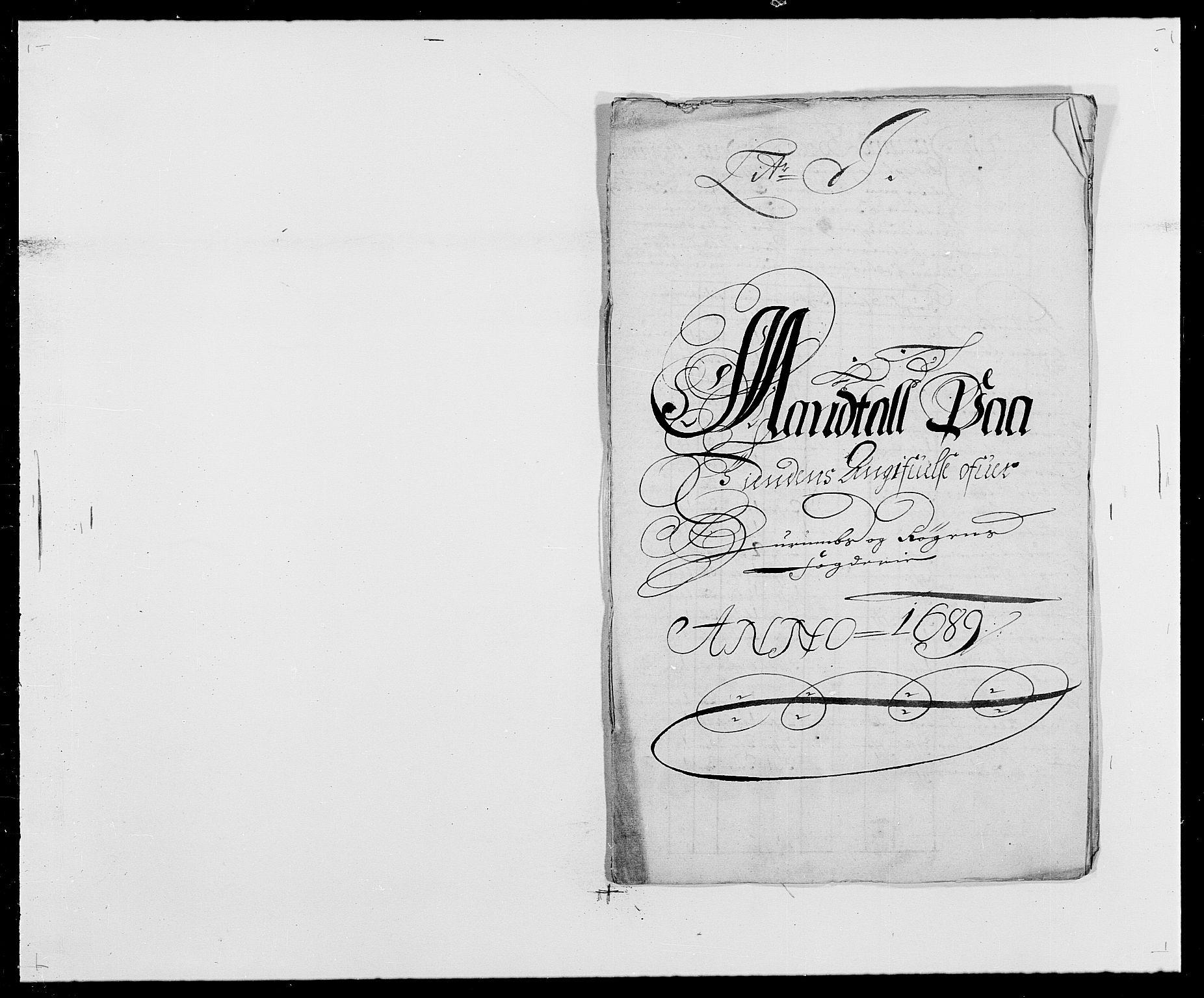 RA, Rentekammeret inntil 1814, Reviderte regnskaper, Fogderegnskap, R29/L1693: Fogderegnskap Hurum og Røyken, 1688-1693, s. 90
