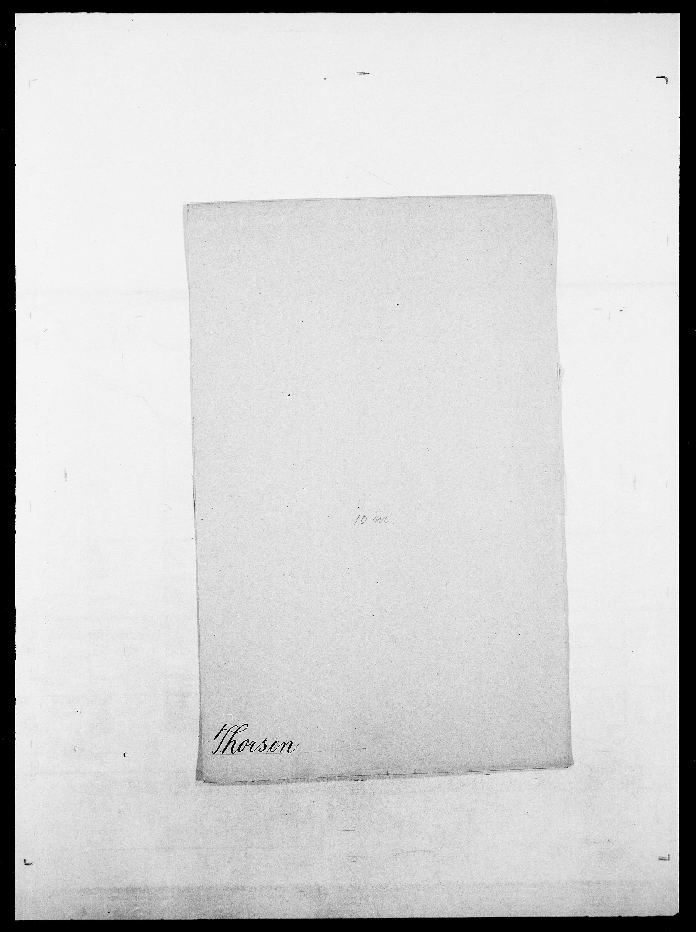 SAO, Delgobe, Charles Antoine - samling, D/Da/L0038: Svanenskjold - Thornsohn, s. 898