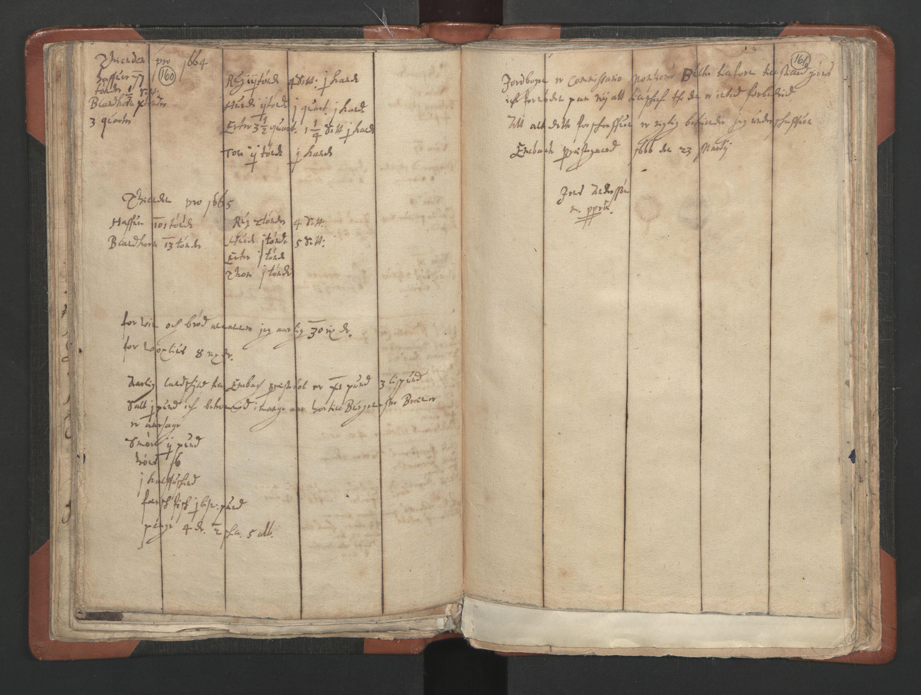 RA, Sogneprestenes manntall 1664-1666, nr. 3: Nedre Romerike prosti, 1664-1666, s. 160-161